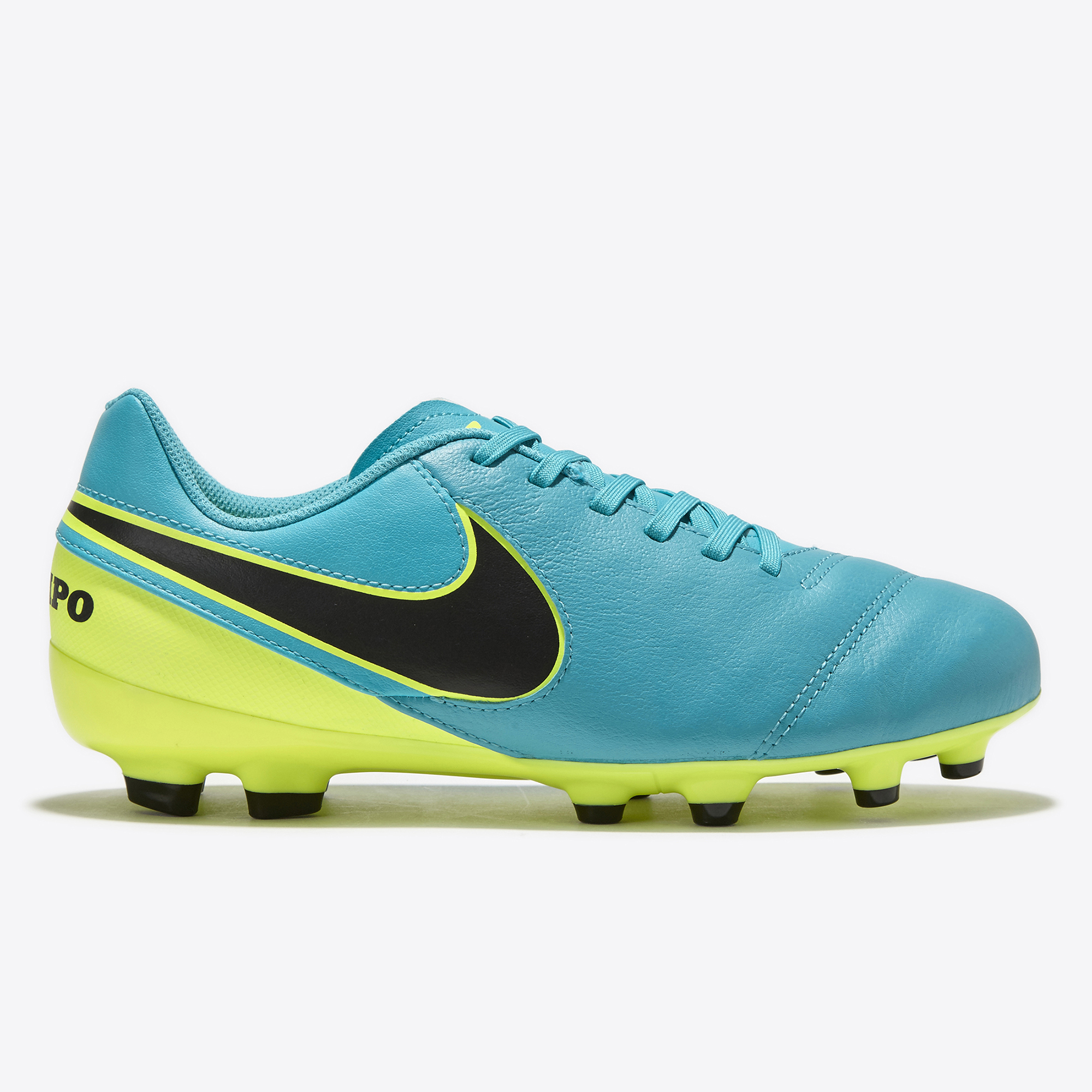 Nike Tiempo Legend VI Firm Ground Football Boots - Clear Jade/Black/Vo
