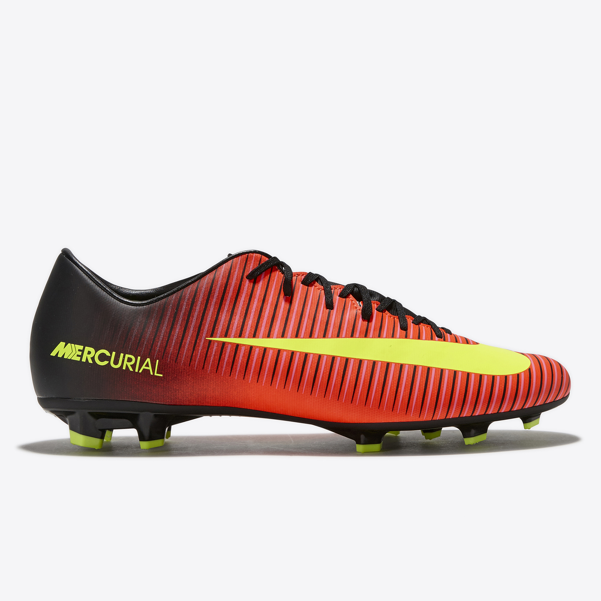 Nike Mercurial Victory VI Firm Ground Football Boots - Total Crimson/V