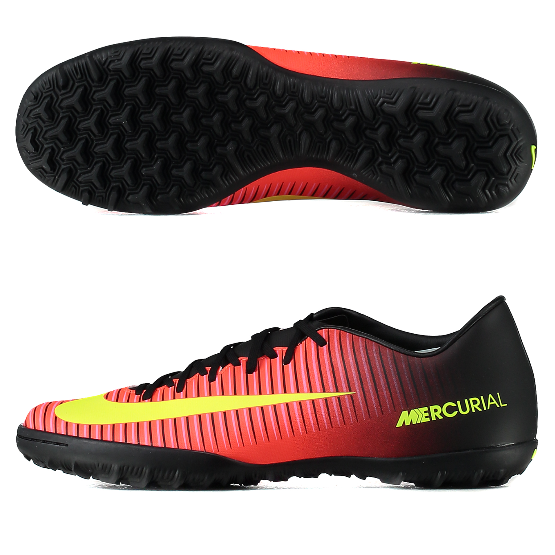 Nike Mercurial Victory VI Astroturf Trainers - Total Crimson/Volt/Blac