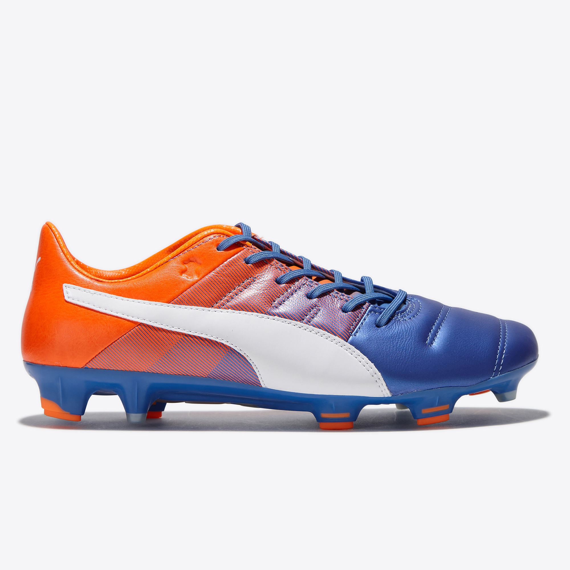 Puma evoPOWER 1.3 Leather FG Blue Yonder/Pum
