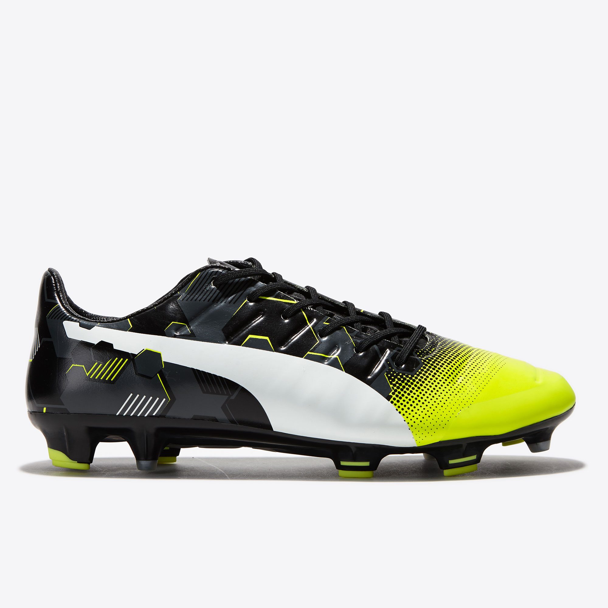Puma evoPOWER 1.3 Graphic FG Safety Yellow/W