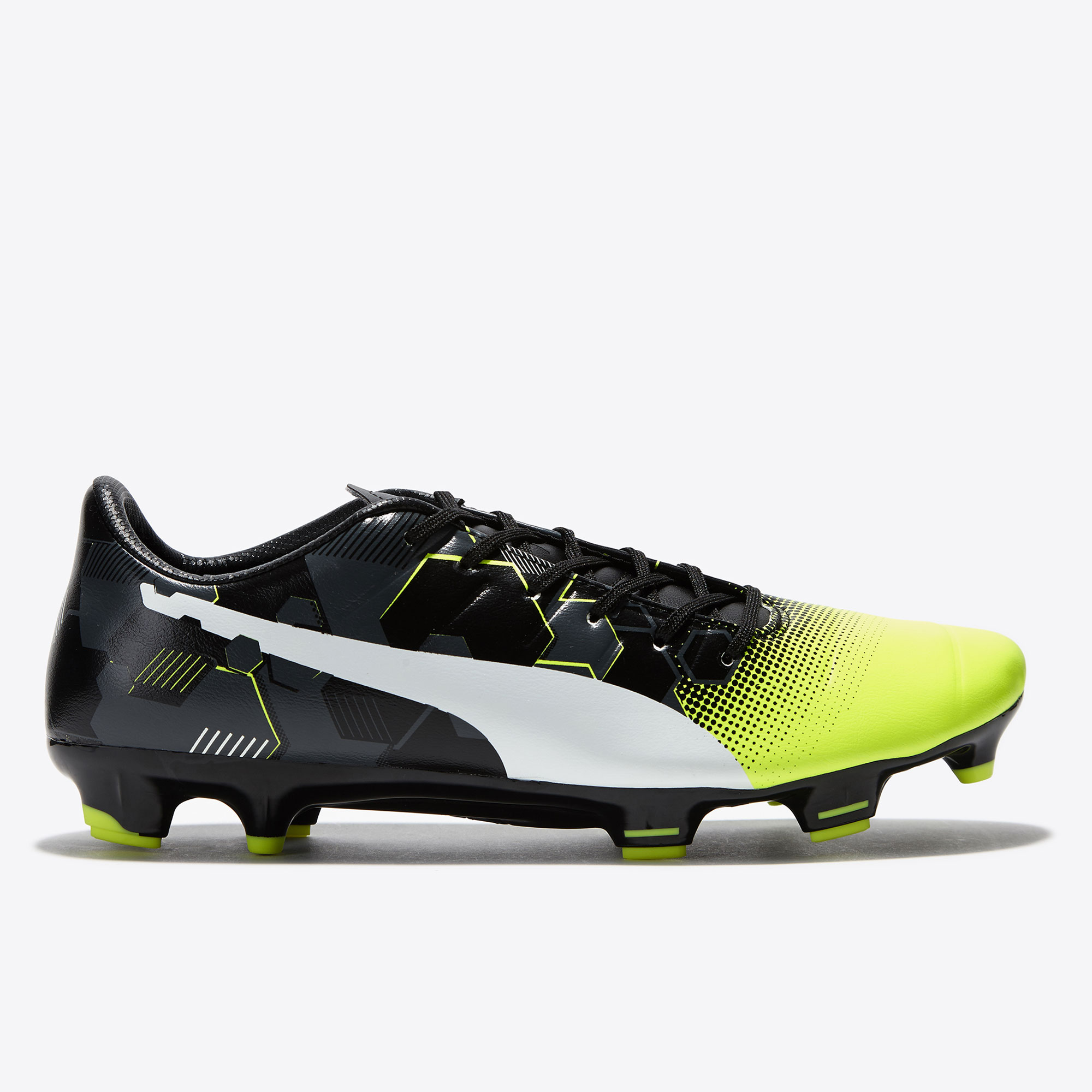 Puma evoPOWER 3.3 Graphic FG Safety Yellow/W