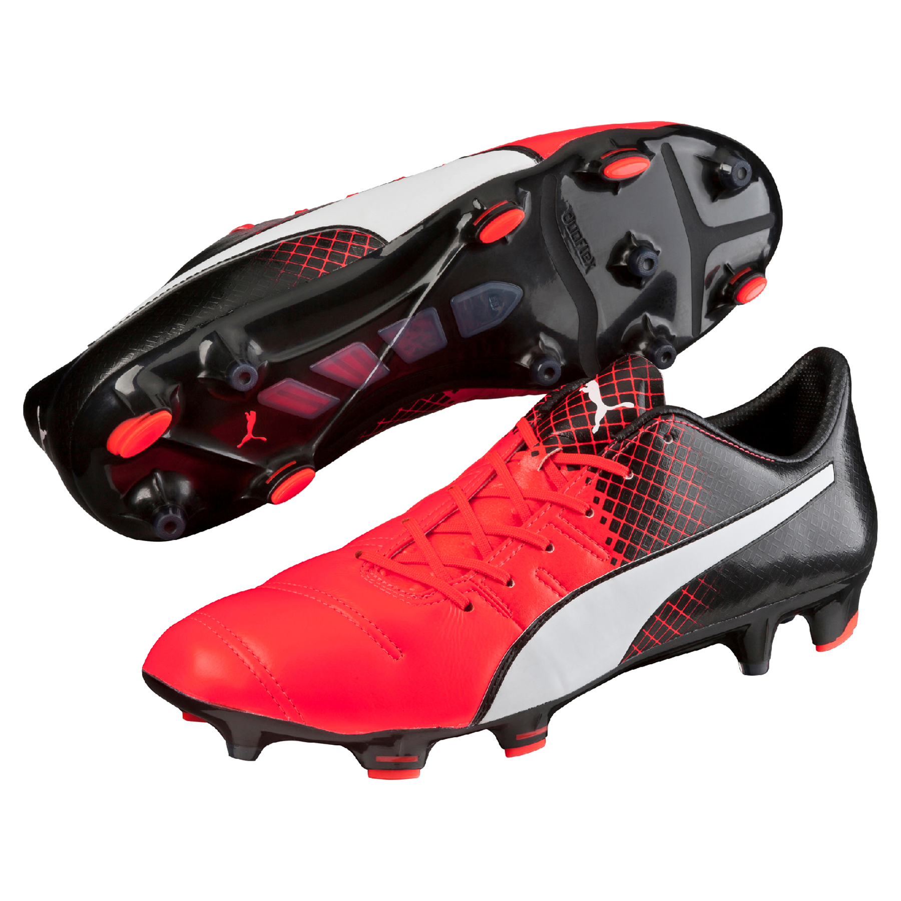 Puma evoPOWER 1.3 Leather FG Red Blast/Puma