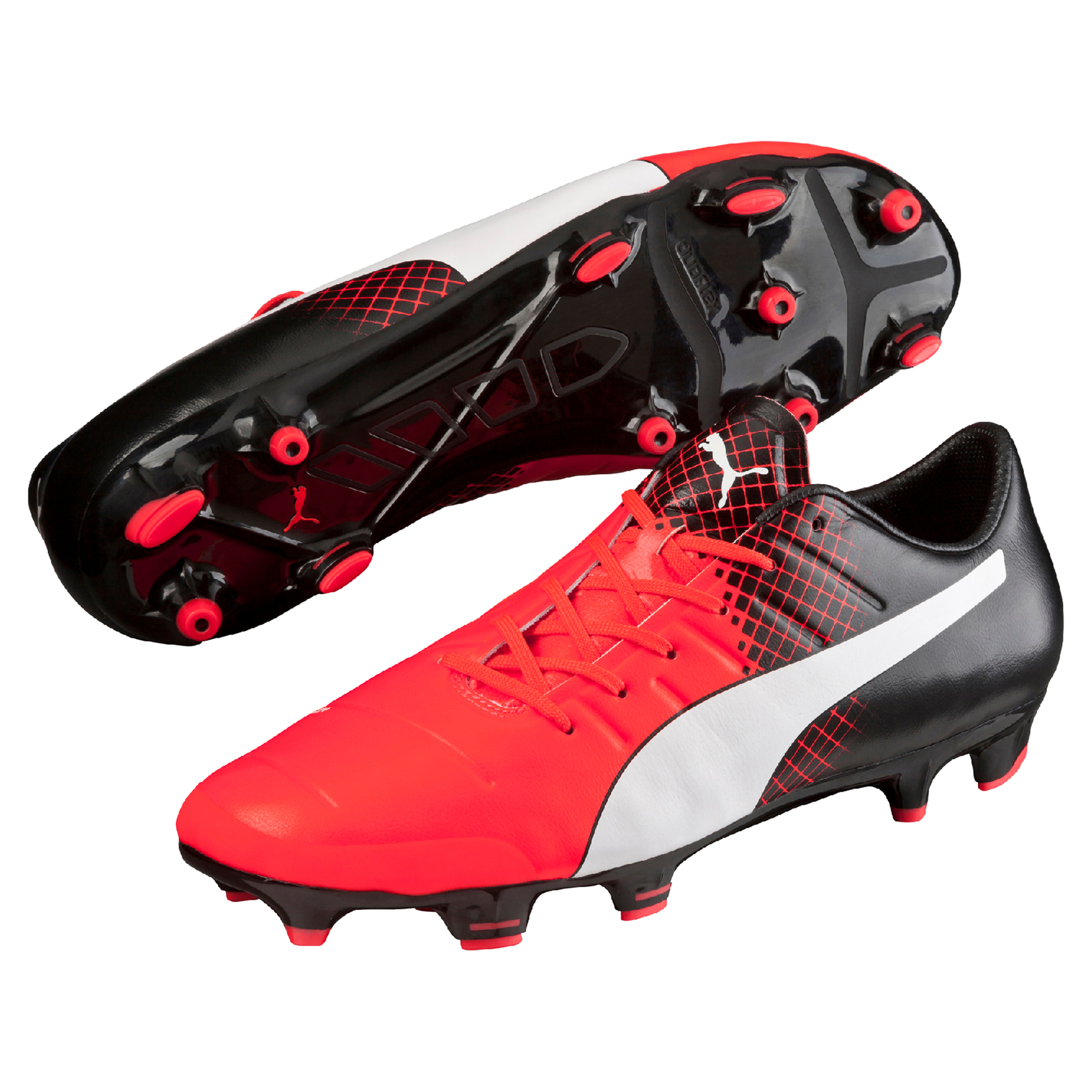 Puma evoPOWER 2.3 FG Red Blast/Puma White/Pu