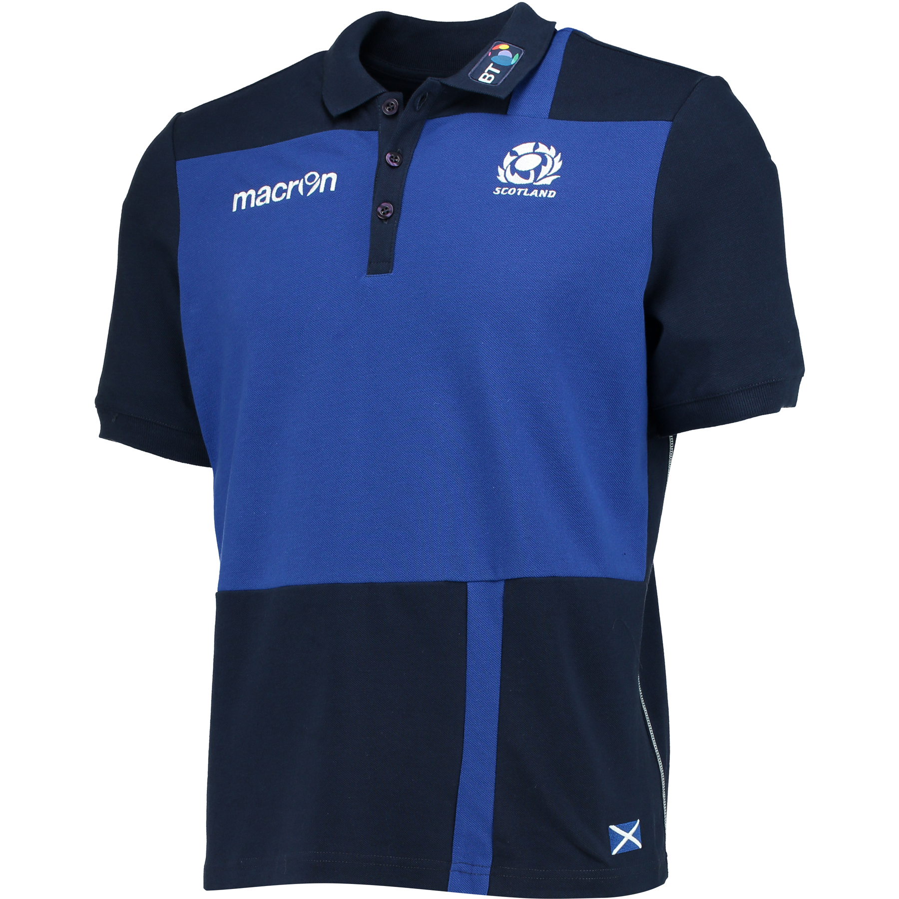 Scotland Rugby Travel Cotton Polo
