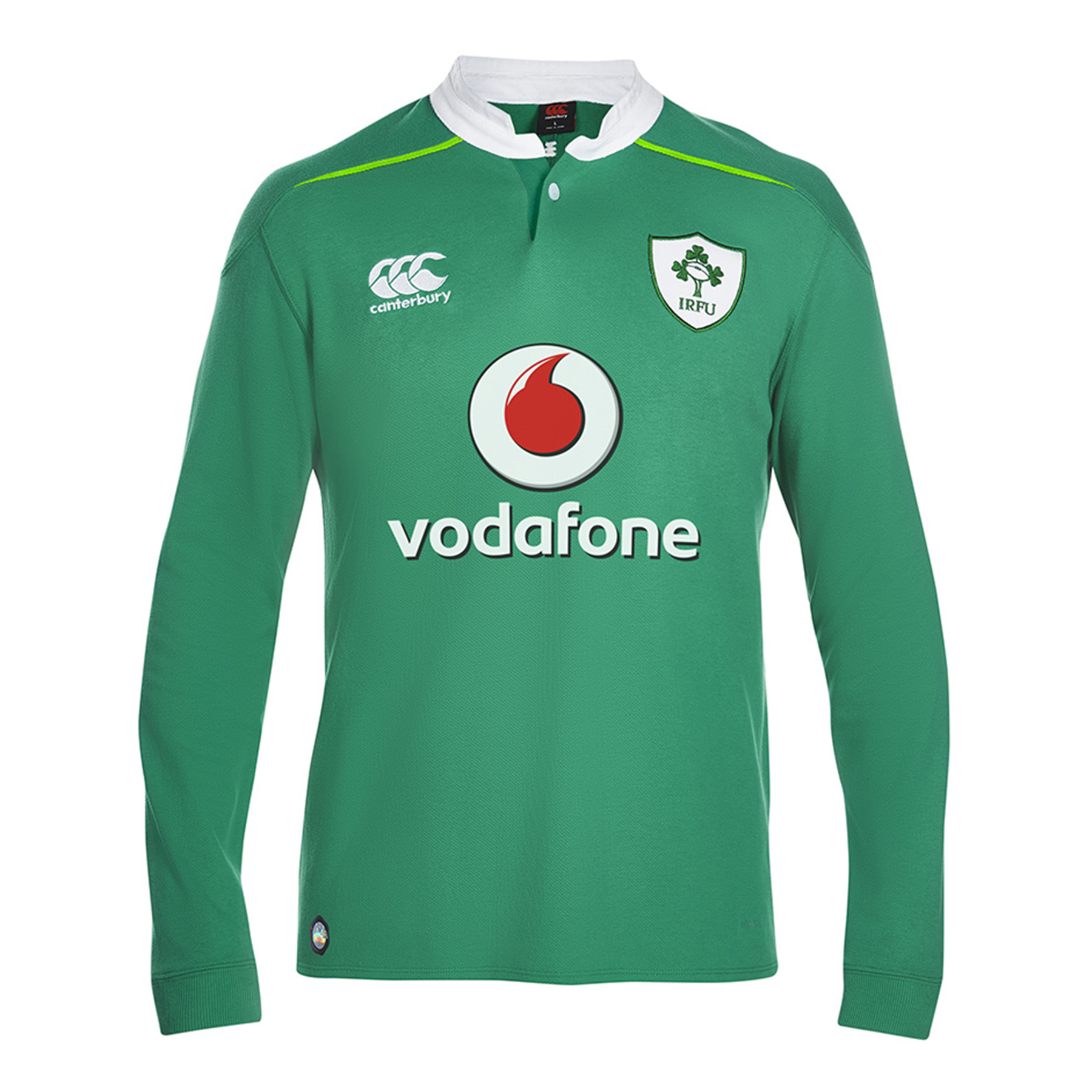 Ireland Rugby Home Classic Rugby Shirt - Long Sleeve