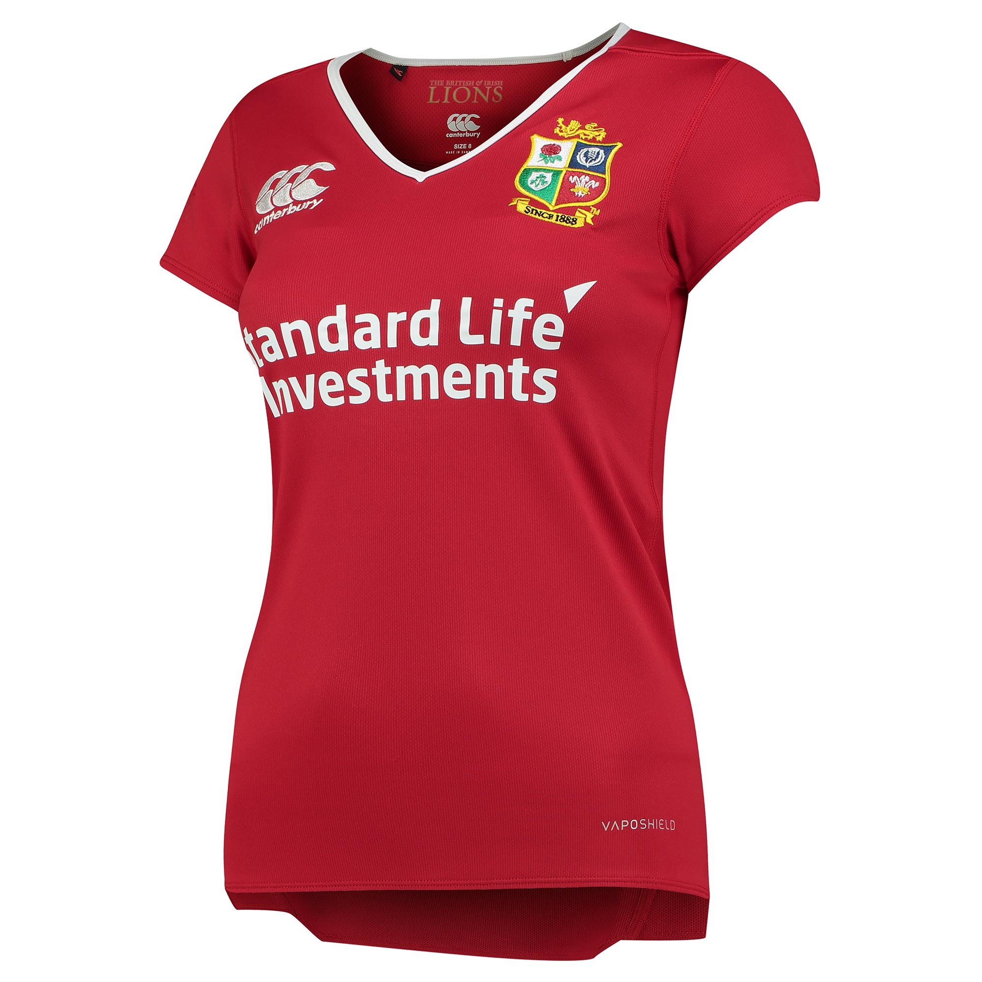British & Irish Lions Vaposhield Matchday Pro Shirt - Womens