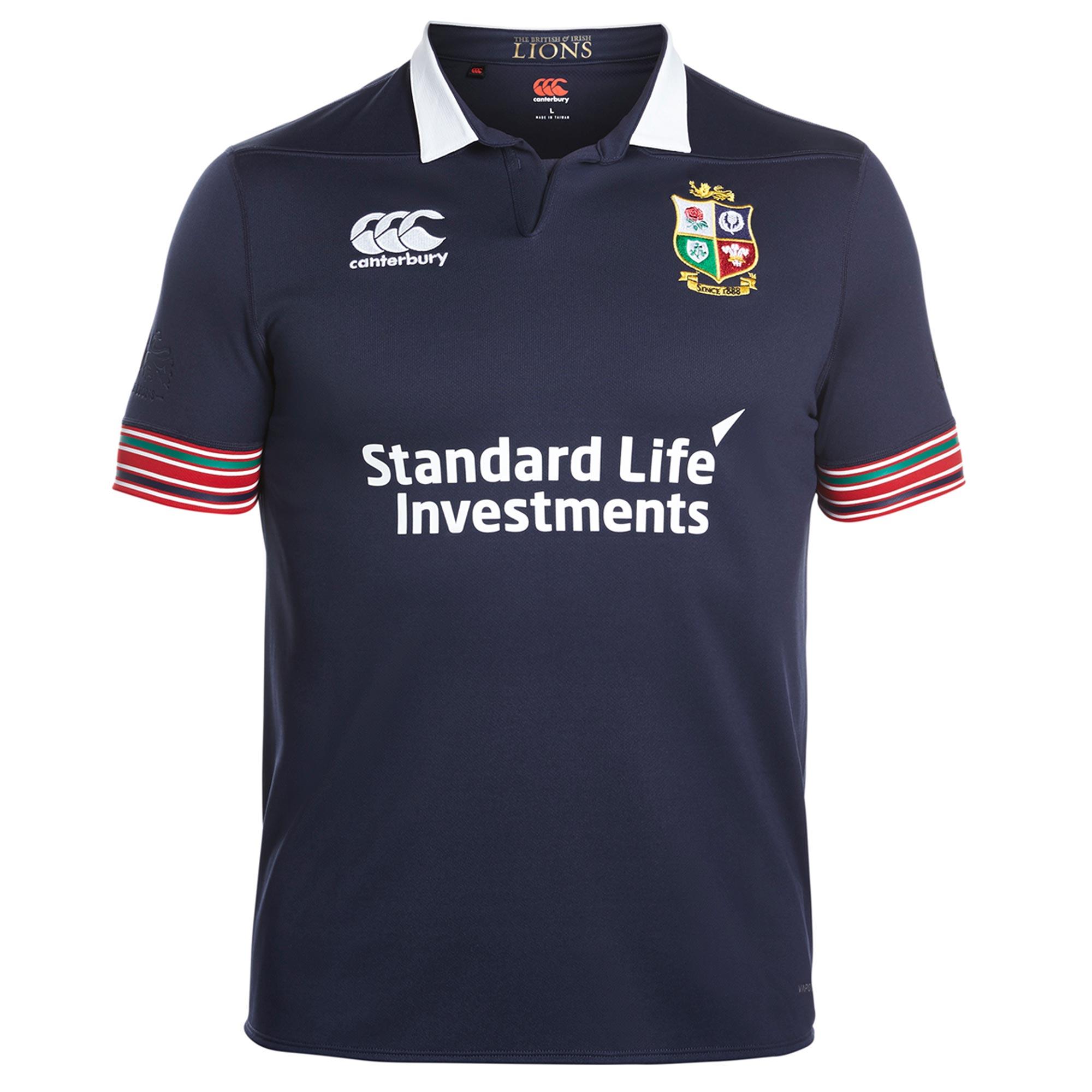 "Image of ""British & Irish Lions Pro Training Rugby Shirt - Peacoat"""
