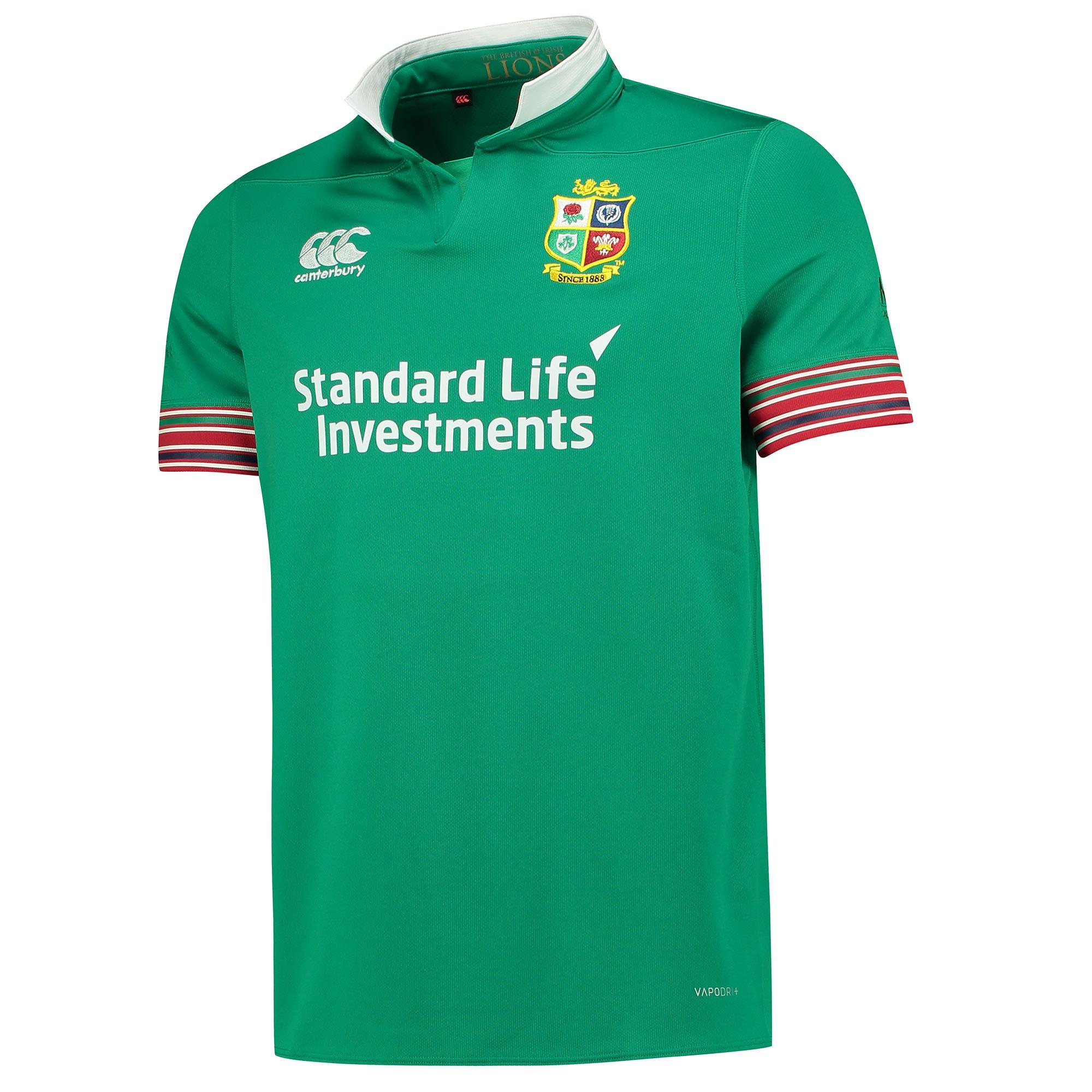 "Image of ""British & Irish Lions Pro Training Rugby Shirt - Bosphorus"""