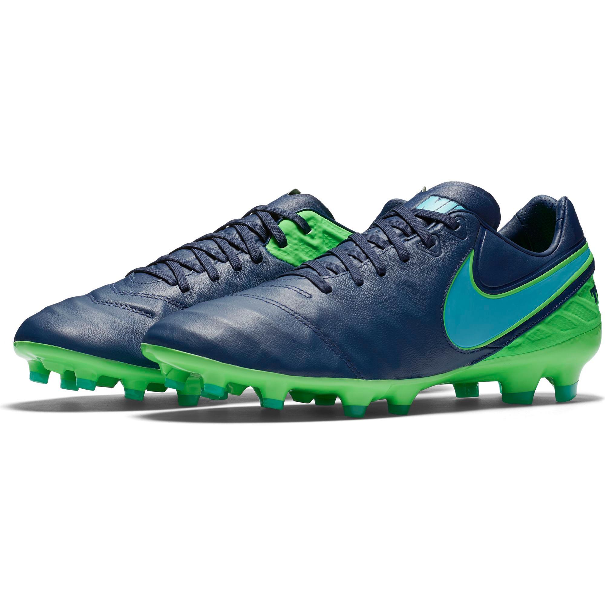 Nike Tiempo Legacy II FG Coastal Blue/Polari