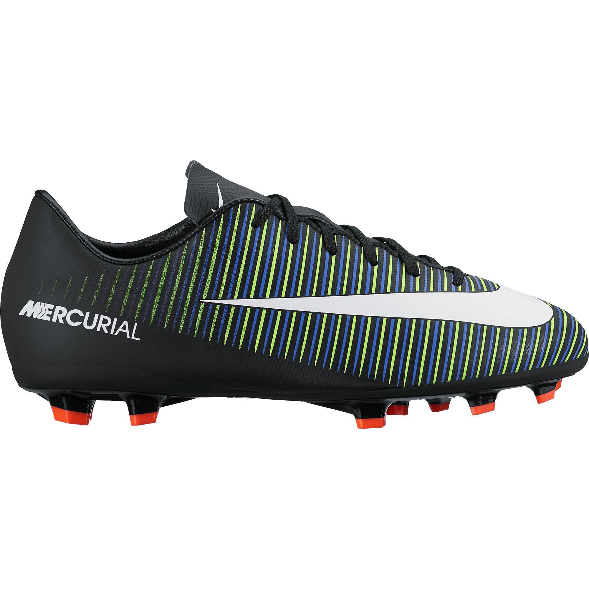 Nike Mercurial Vapor XI FG Black/White/Elect