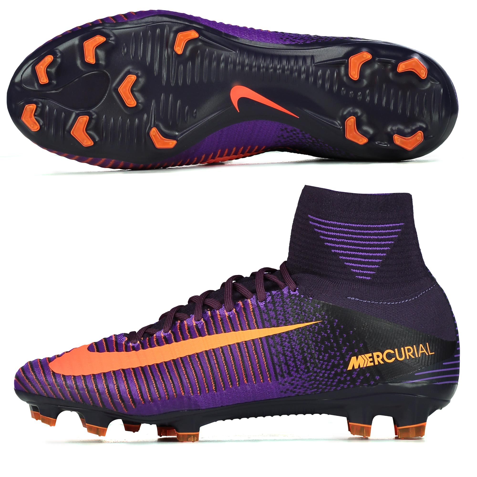 Nike Mercurial Superfly V FG Purple Dynasty/