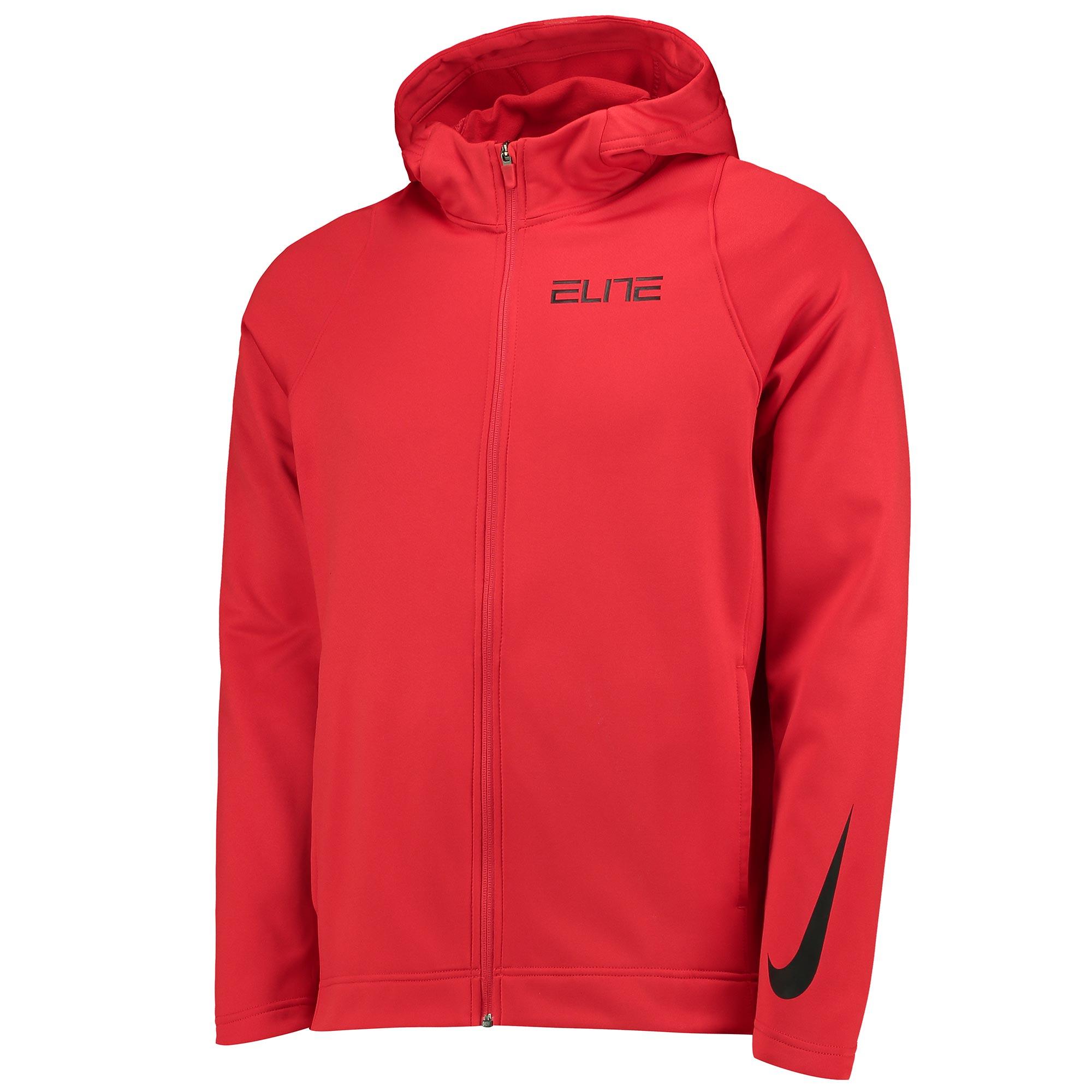 Nike Therma Elite Basketball Hoodie - University Red