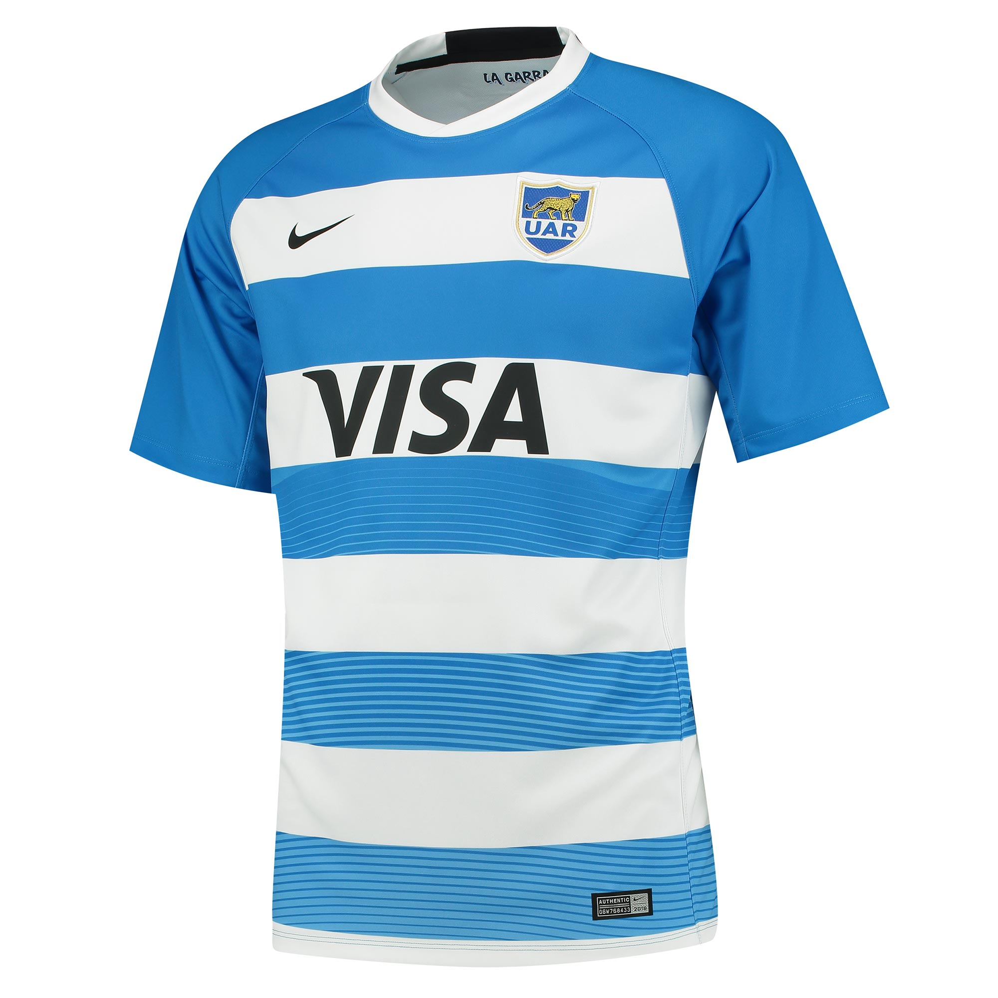 """Image of """"Argentina Rugby Home Shirt 2016-17"""""""