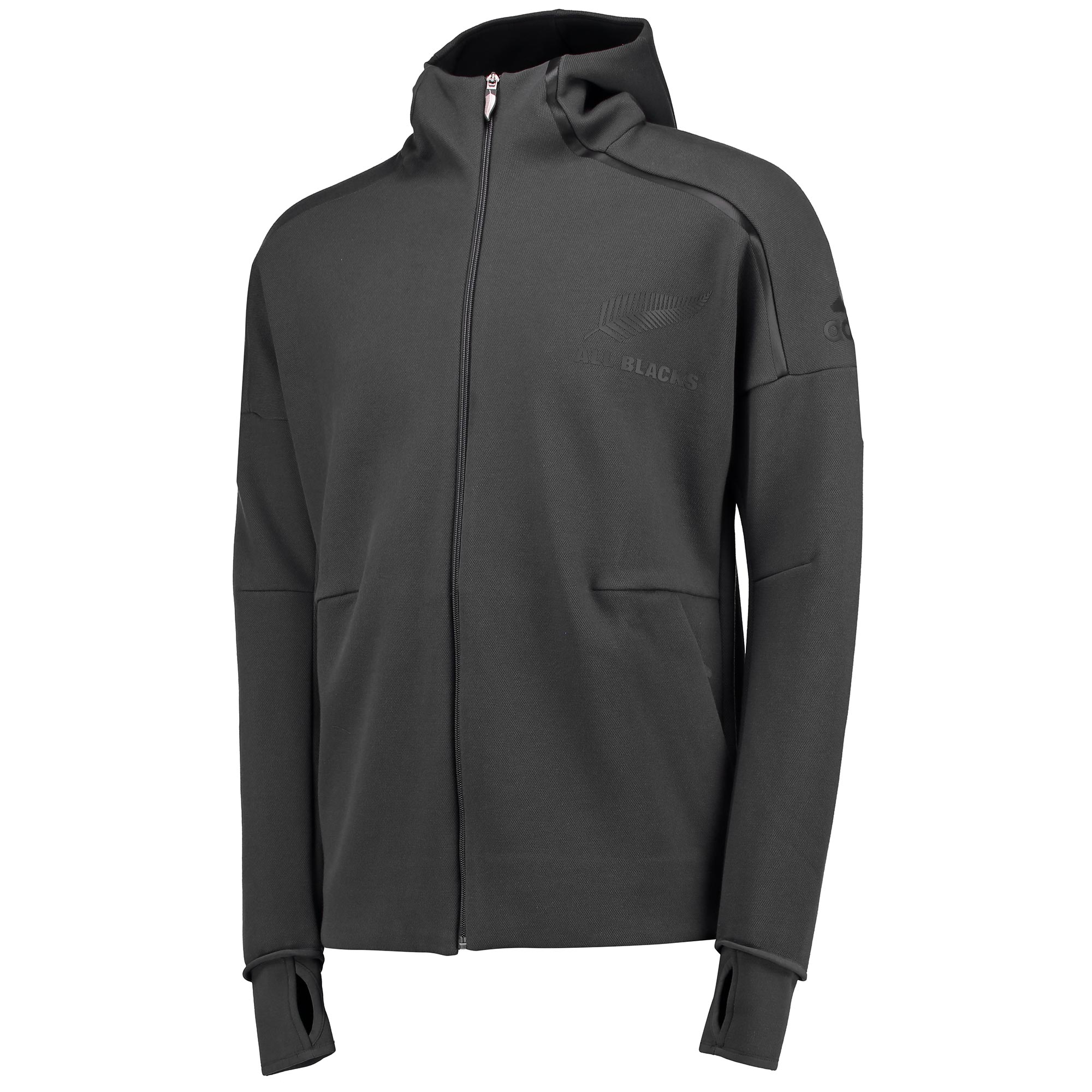 "Image of ""All Blacks Anthem Jacket - Dark Grey Heather/Solid Grey"""