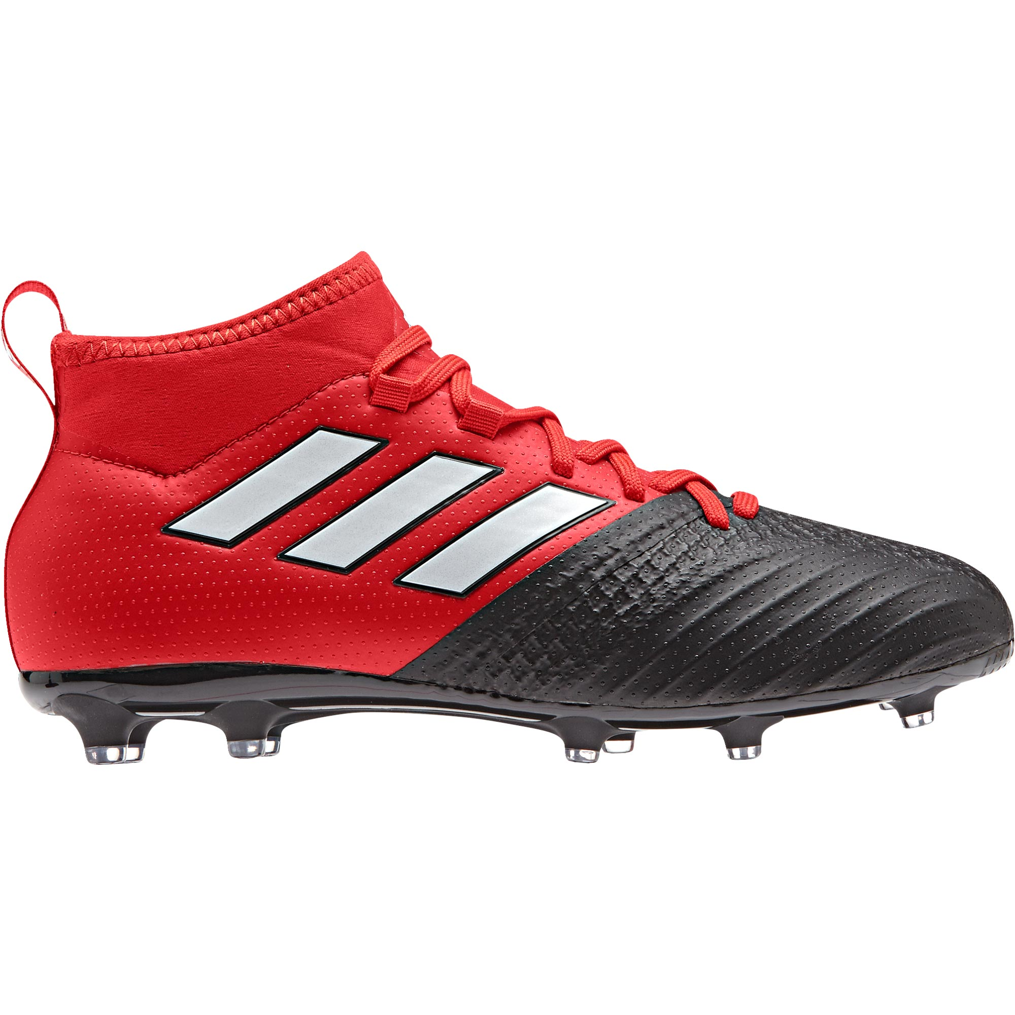 Image of adidas Ace 17.1 Firm Ground Football Boots - Red/White/Core Black - Ki