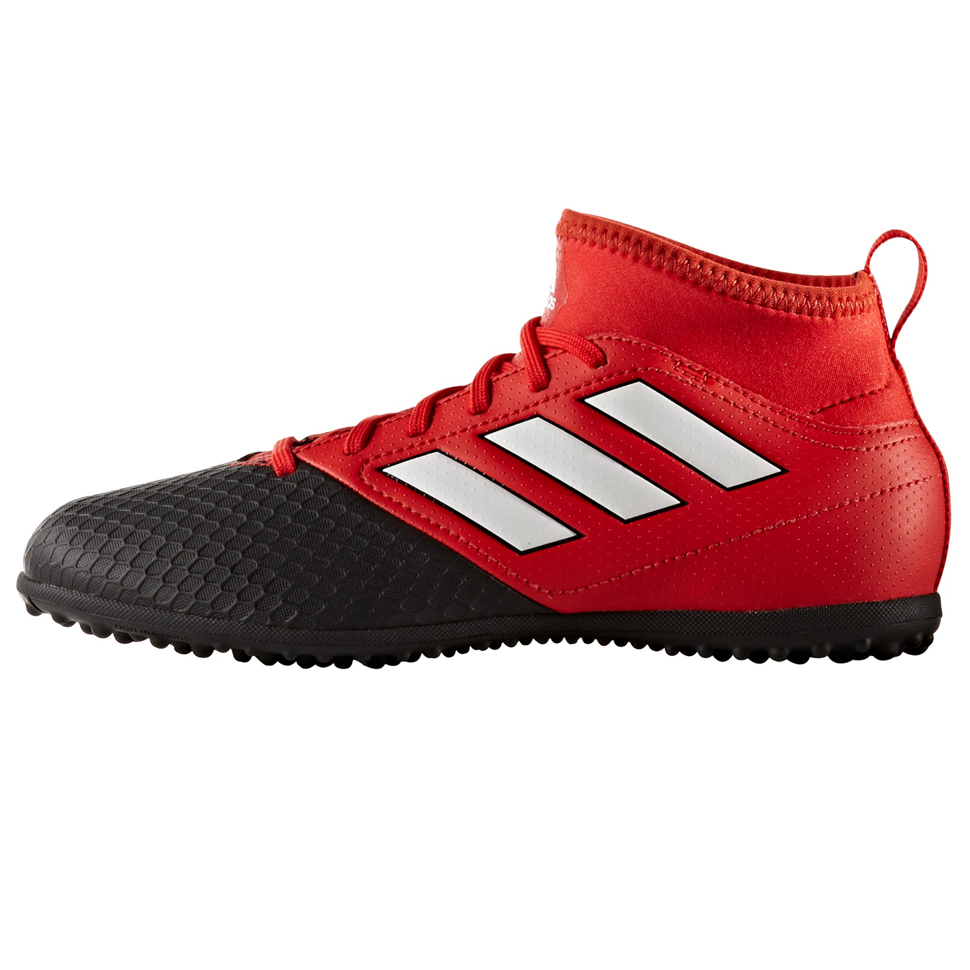 Image of adidas Ace 17.3 Astroturf Trainers - Red/White/Core Black - Kids