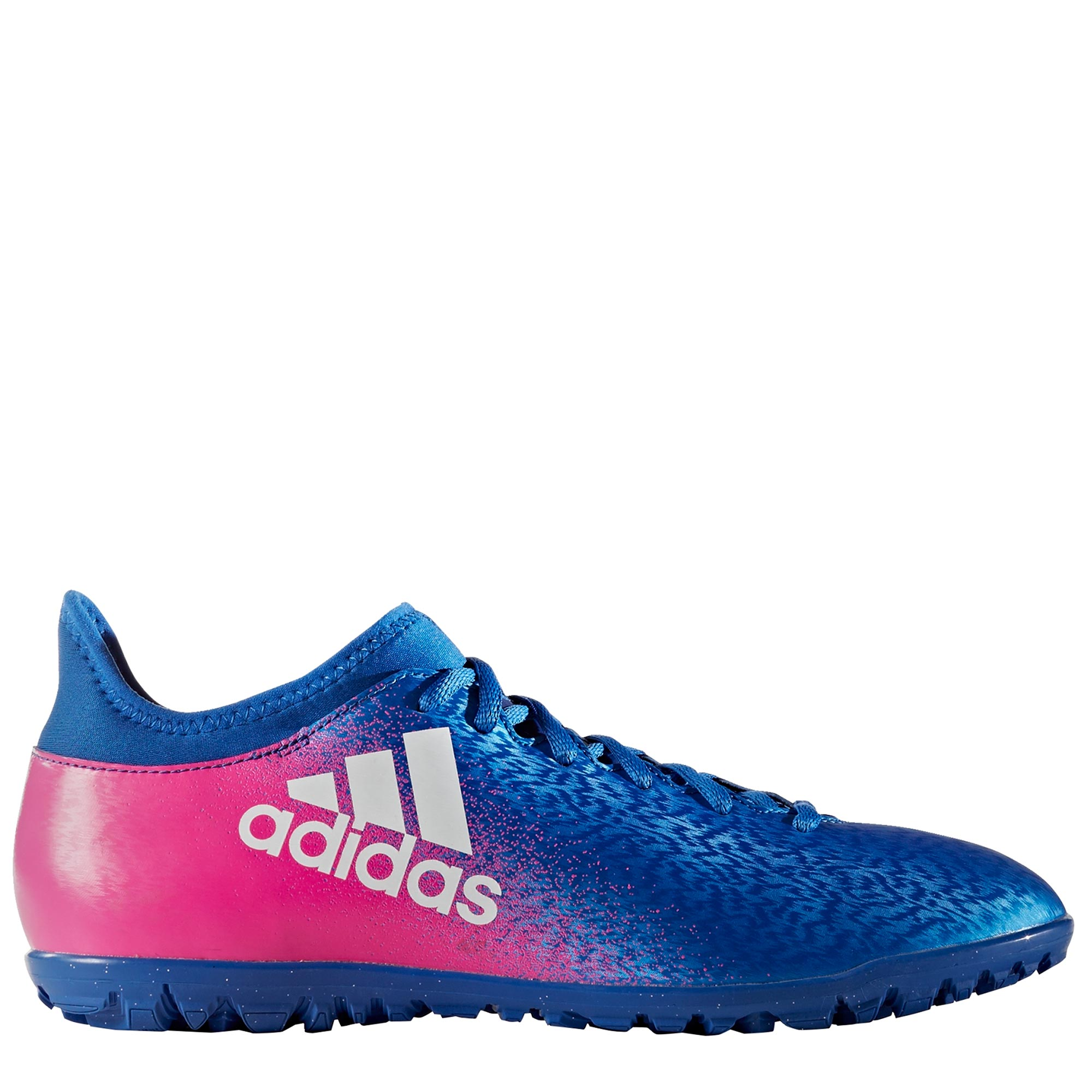 adidas X 16.3 Astroturf Trainers - Blue/White/Shock Pink