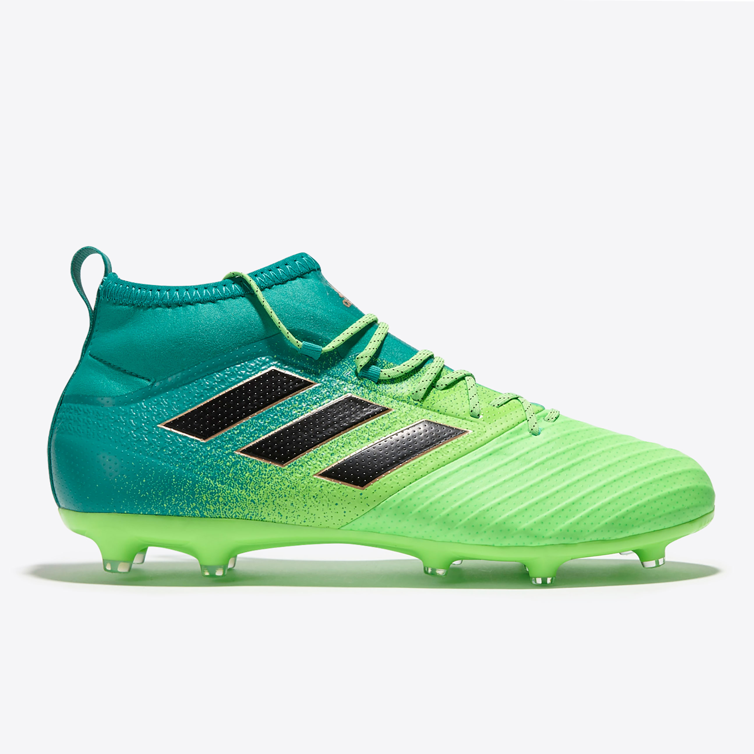 Image of adidas Ace 17.2 Primemesh Firm Ground Football Boots - Solar Green/Cor