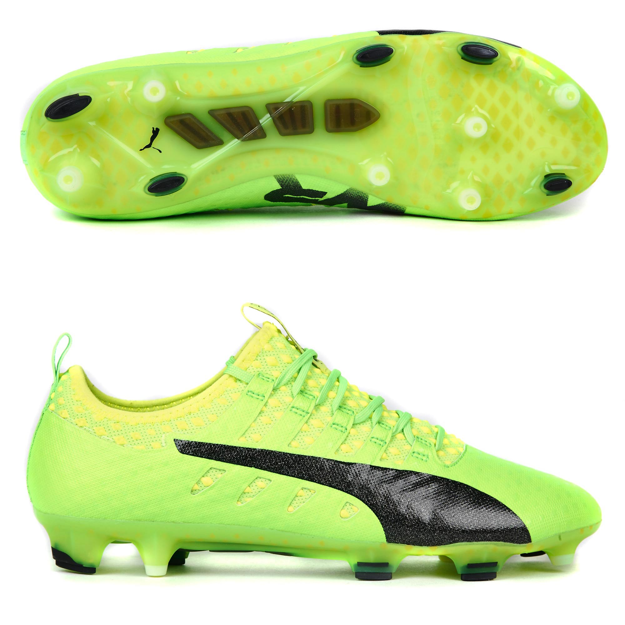 Puma evoPOWER Vigor 1 FG Green Gecko/Black/S
