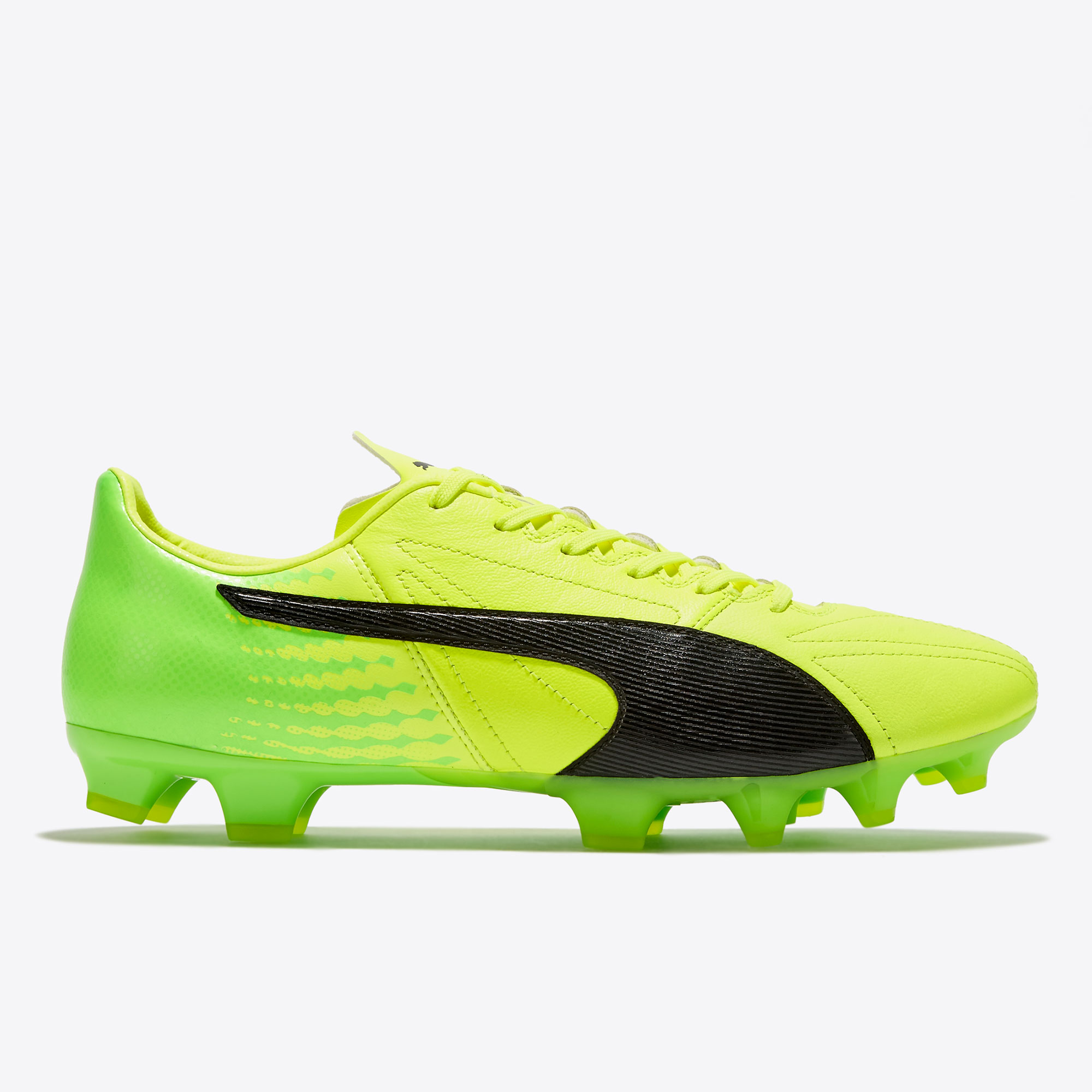 Puma evoSPEED 17.2 Leather FG Safety Yellow/