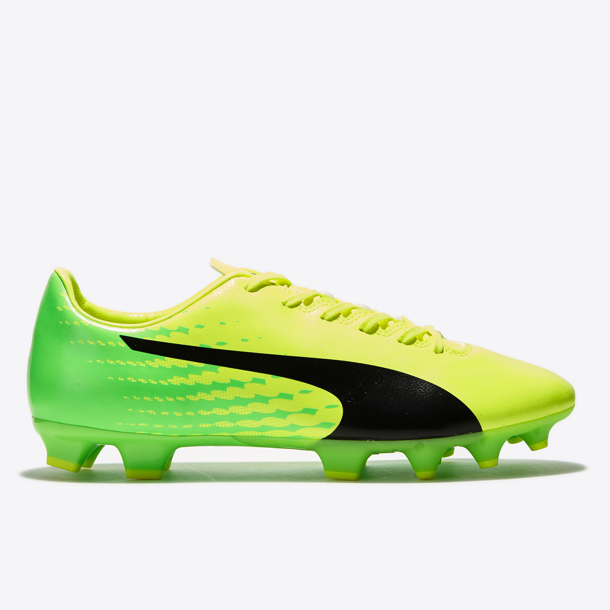 Puma evoSPEED 17.4 FG Safety Yellow/Black/Gr