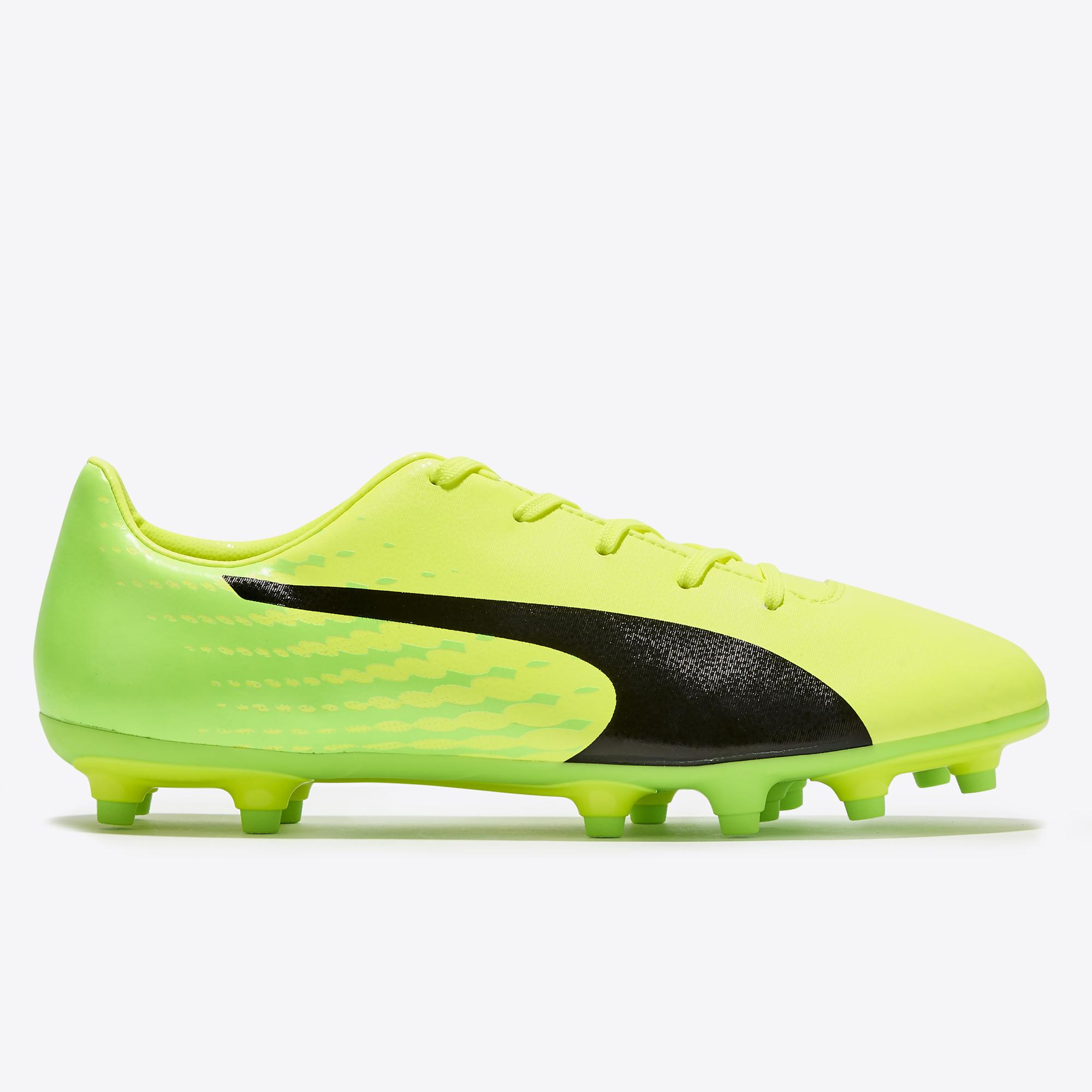 Puma evoSPEED 17.5 FG Safety Yellow/Black/Gr