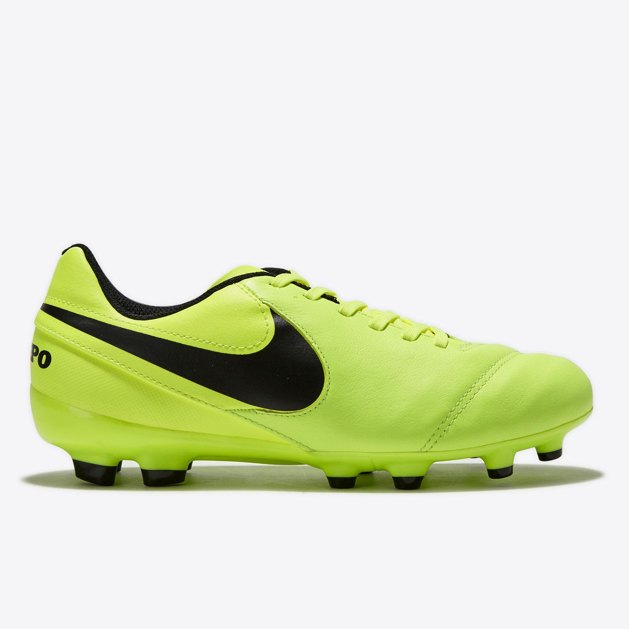 Nike Tiempo Legend VI FG Volt/Black/Volt K