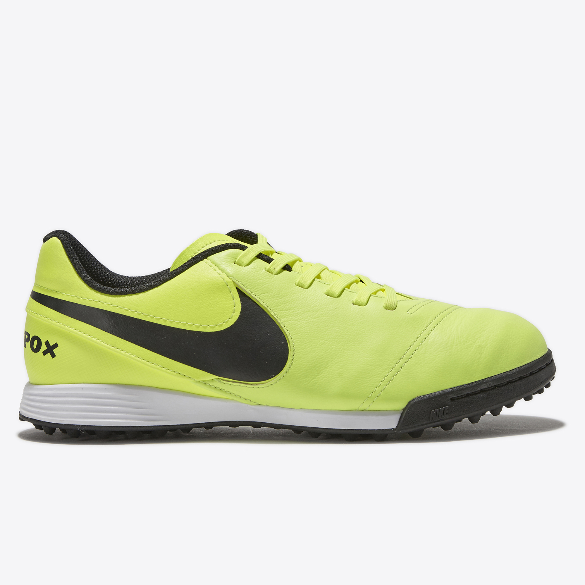 Nike Tiempo Legend VI Astroturf Trainers - Volt/Black/Volt - Kids