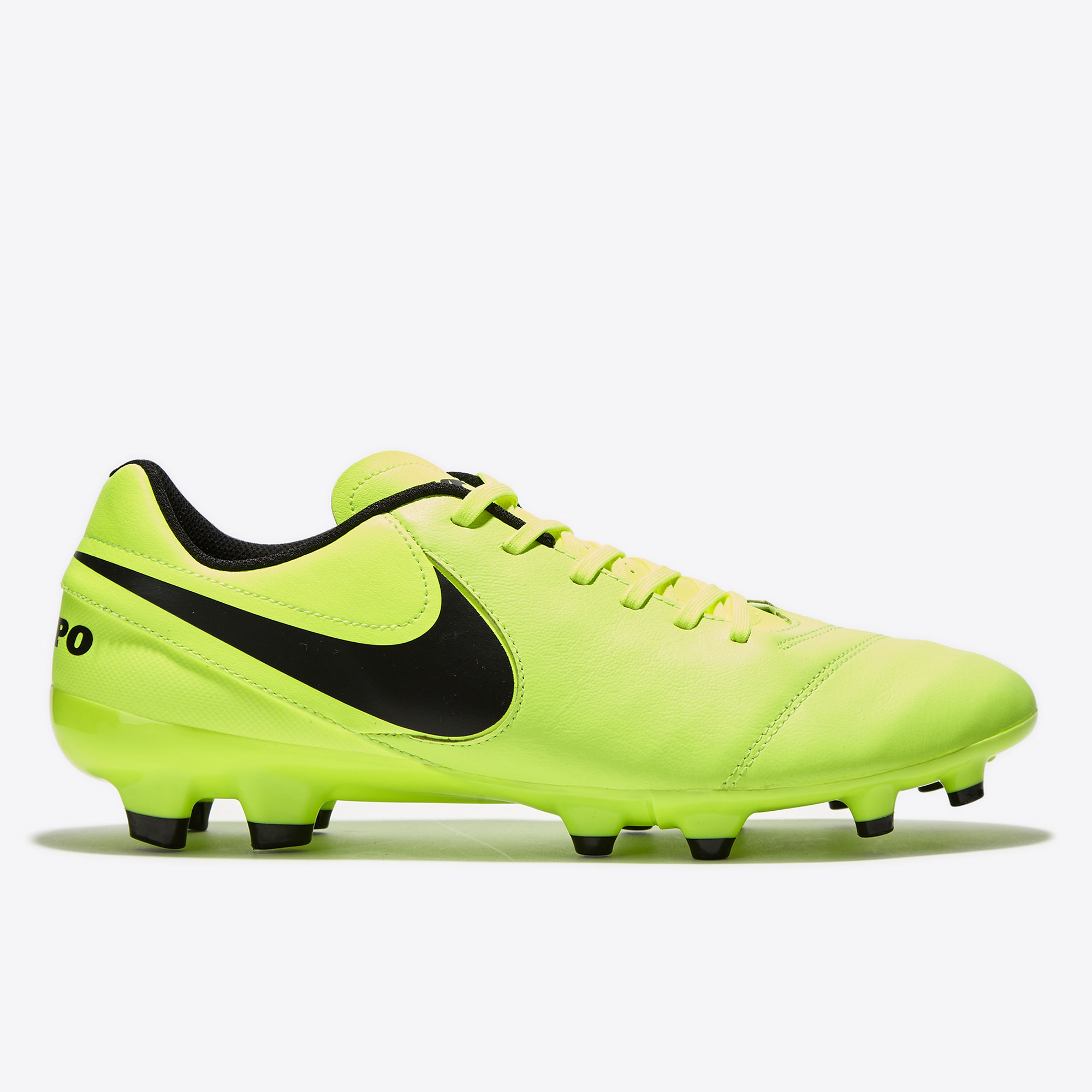 Nike Tiempo Genio II Leather FG Volt/Black/V