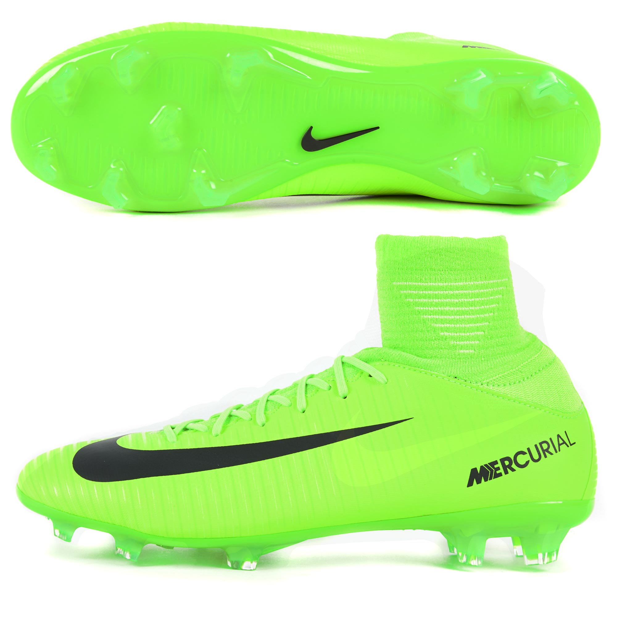 Nike Mercurial Superfly V FG Electric Green/