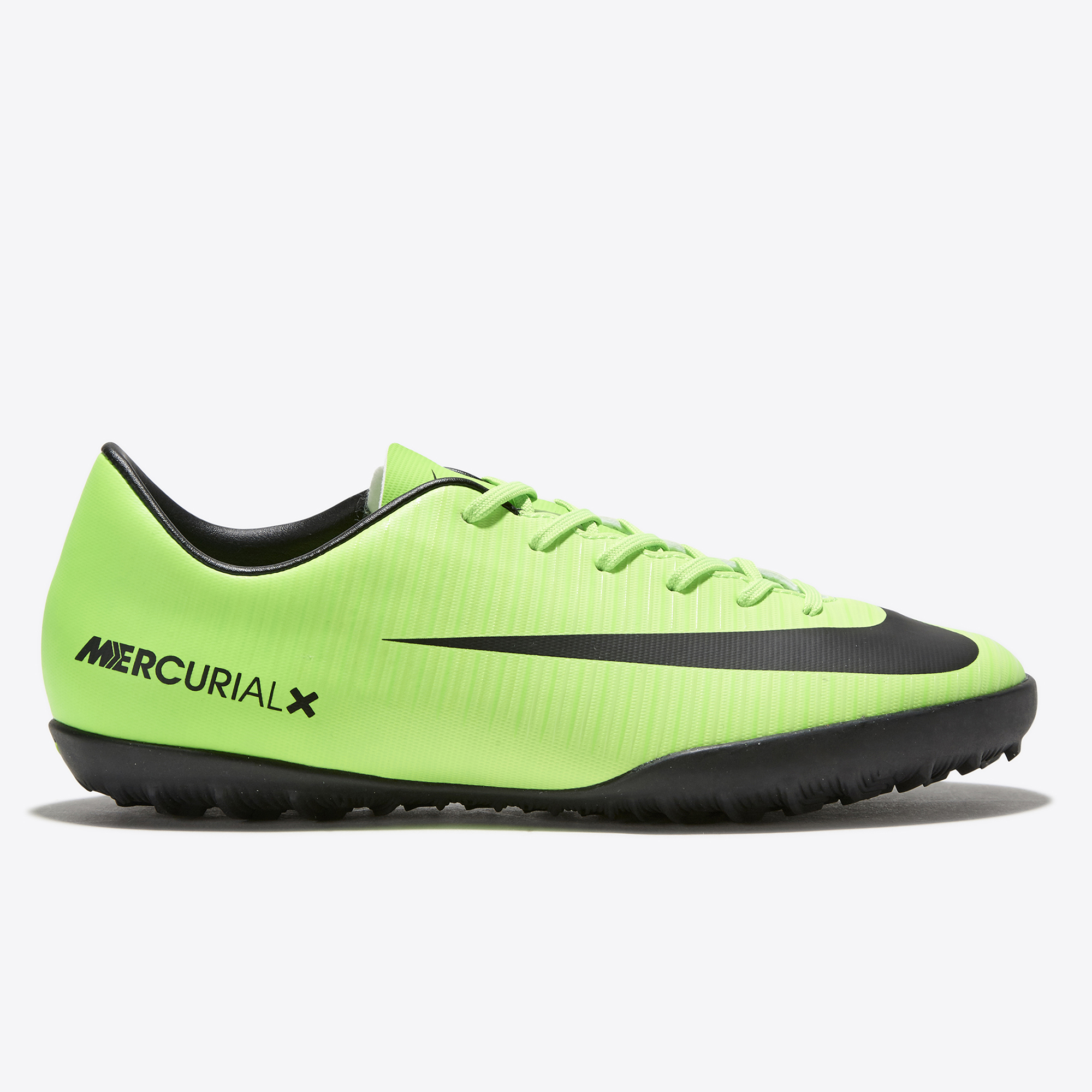 Nike Mercurial Vapor XI Astroturf Trainers - Electric Green/Black/Flas