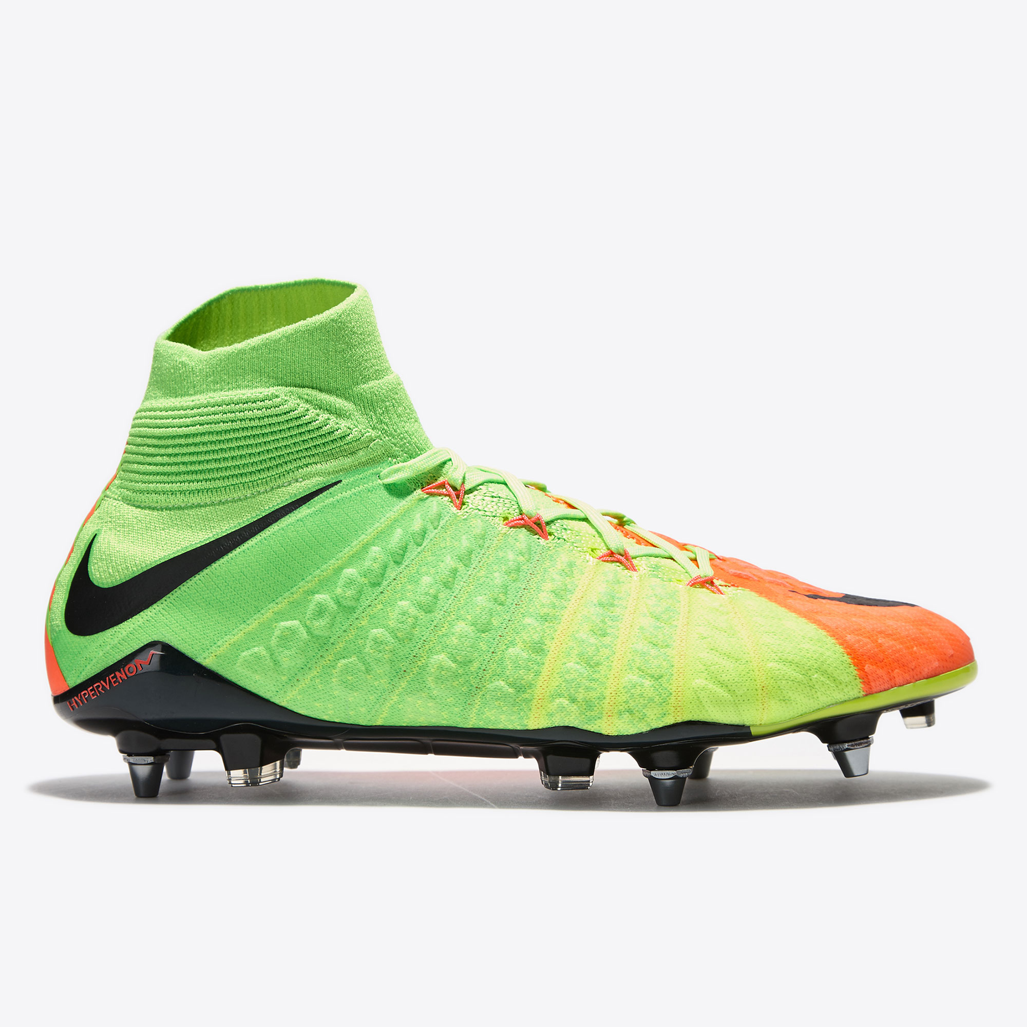 Nike Hypervenom Phantom III Soft Ground Pro Football Boots - Electric