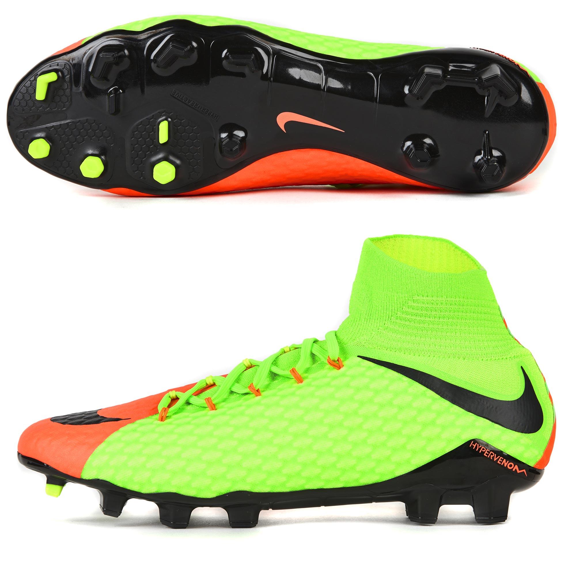 Nike Hypervenom Phatal III FG Electric Green