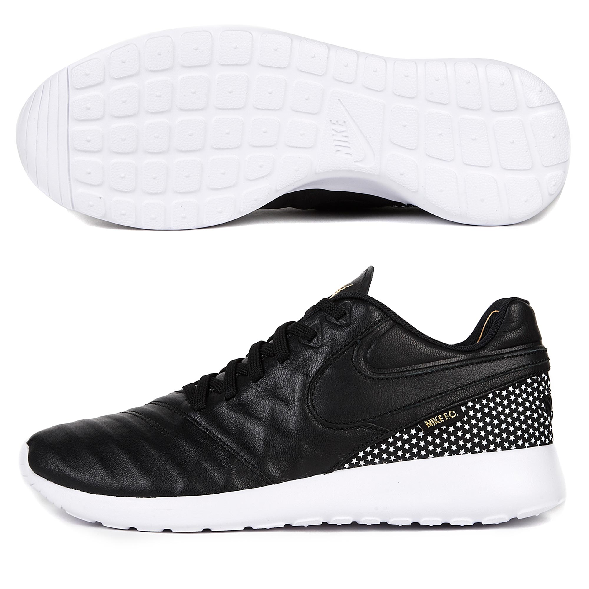 Nike F.C. Roshe Tiempo VI Fc Trainers - Black/White/Metallic Gold