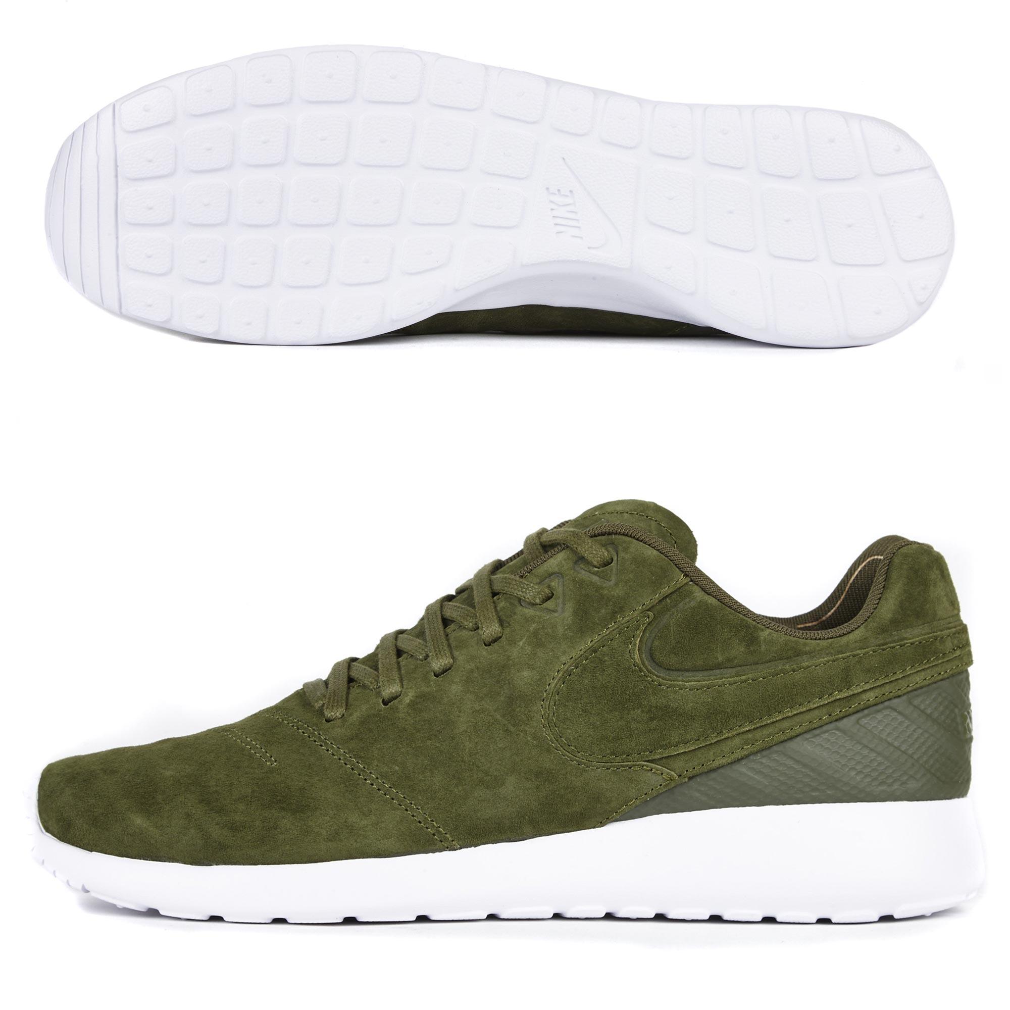 Nike F.C. Roshe Tiempo VI Trainers - Legion Green/Legion Green/White