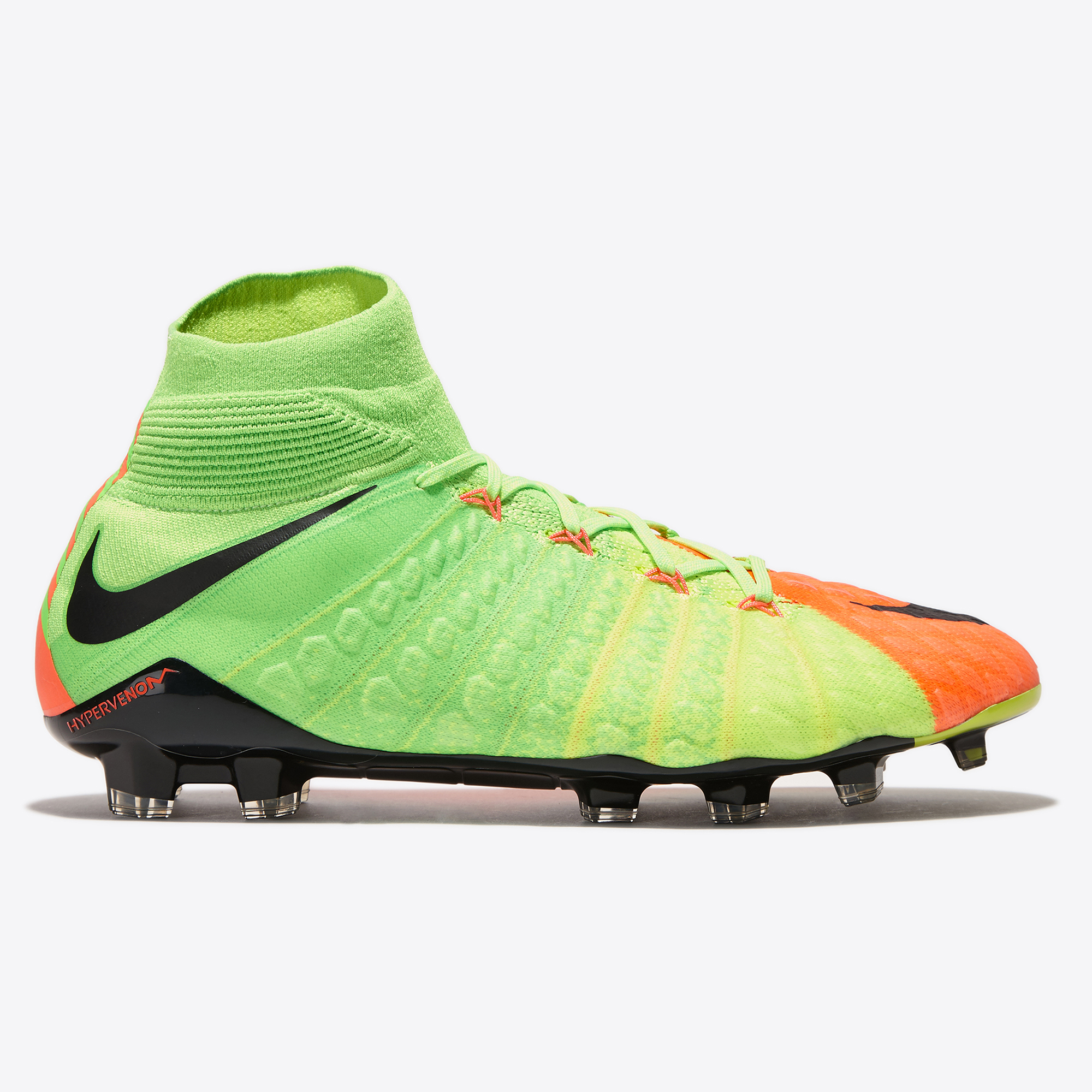 Nike Hypervenom Phantom III Firm Ground Football Boots - Electric Gree
