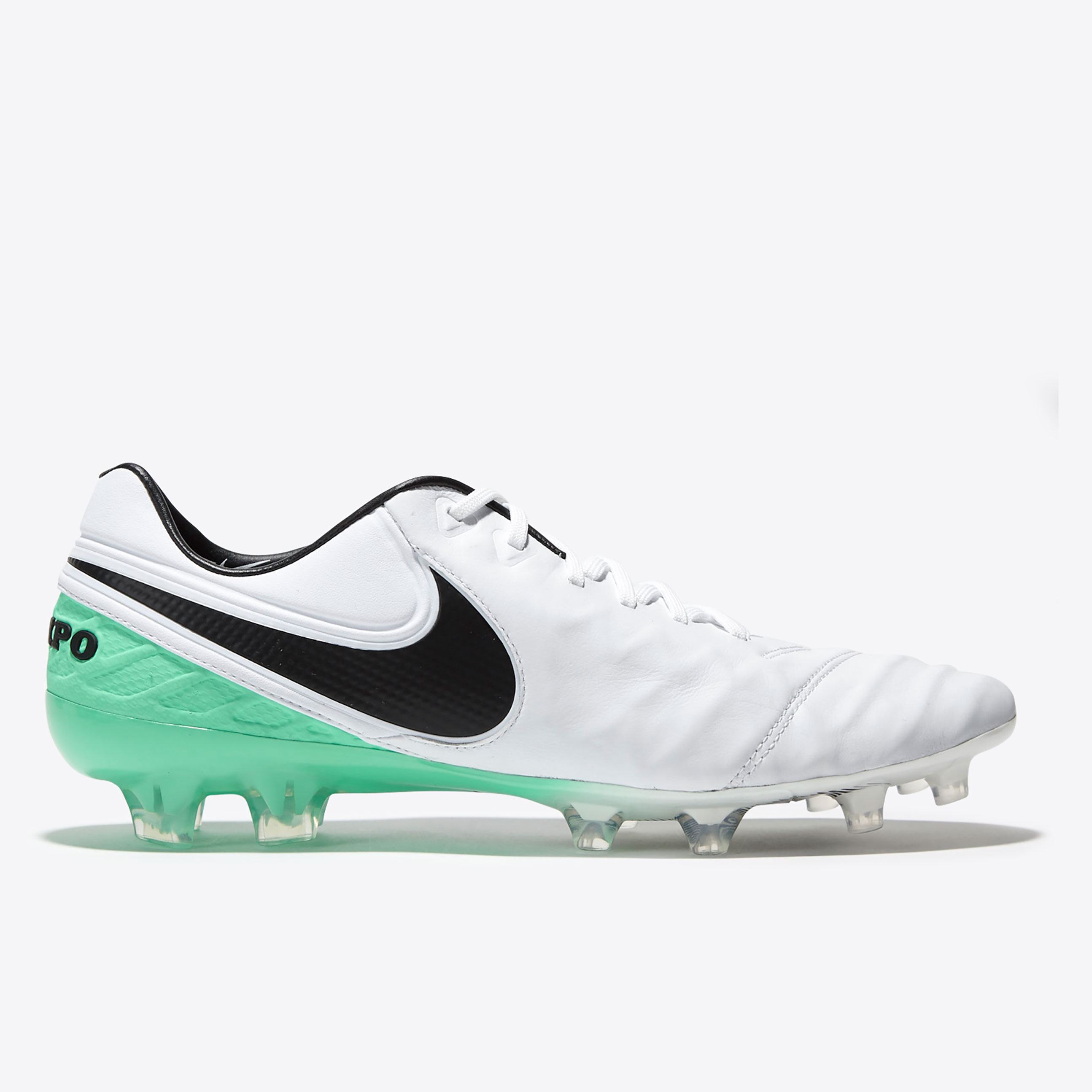 Nike Tiempo Legend VI FG White/Black/Electro