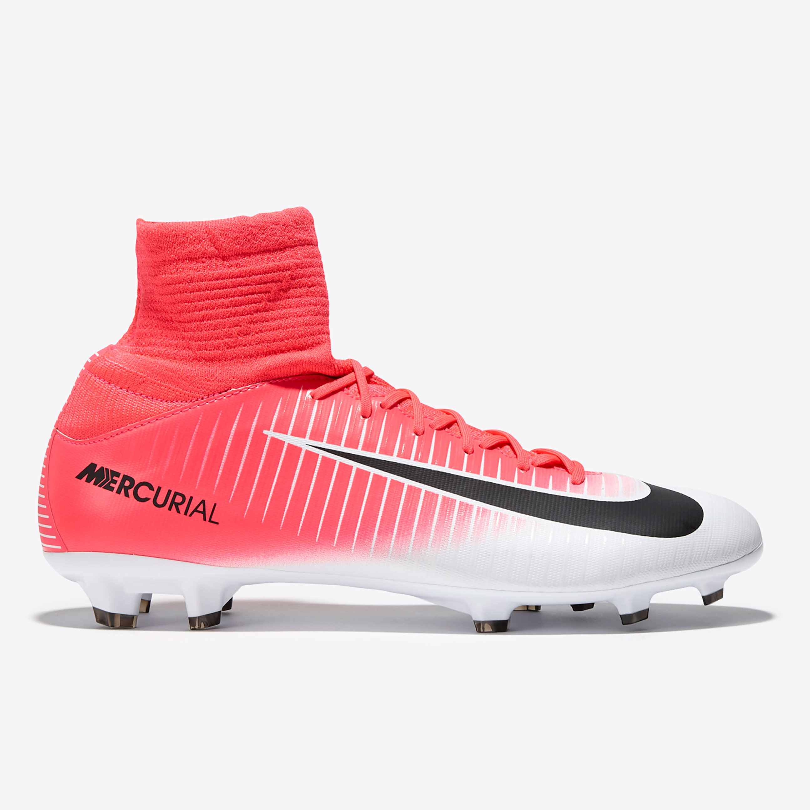 Nike Mercurial Superfly V Firm Ground Football Boots - Racer Pink/Blac