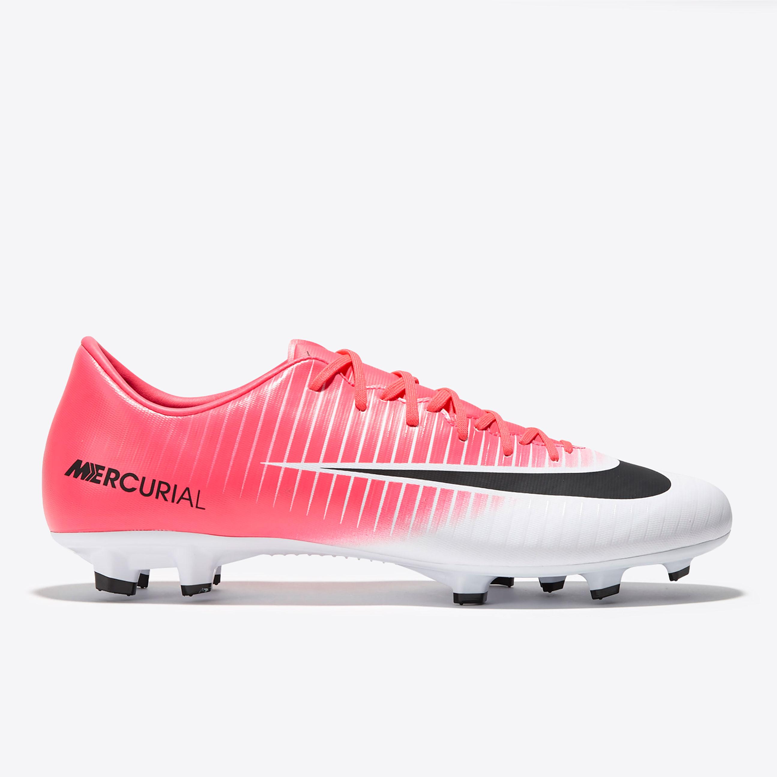 Nike Mercurial Victory VI Firm Ground Football Boots - Racer Pink/Blac