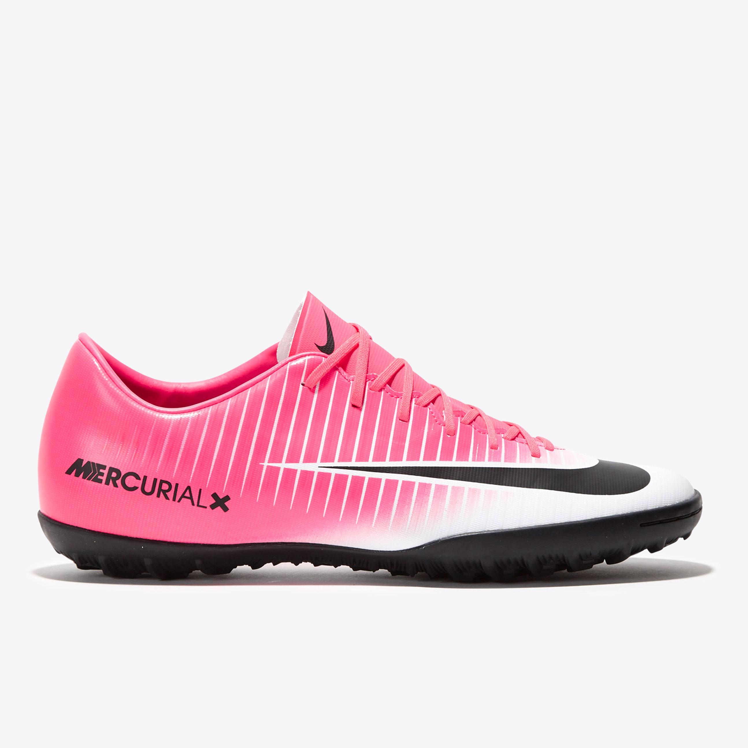 Nike Mercurial Victory VI Astroturf Trainers - Racer Pink/Black/White