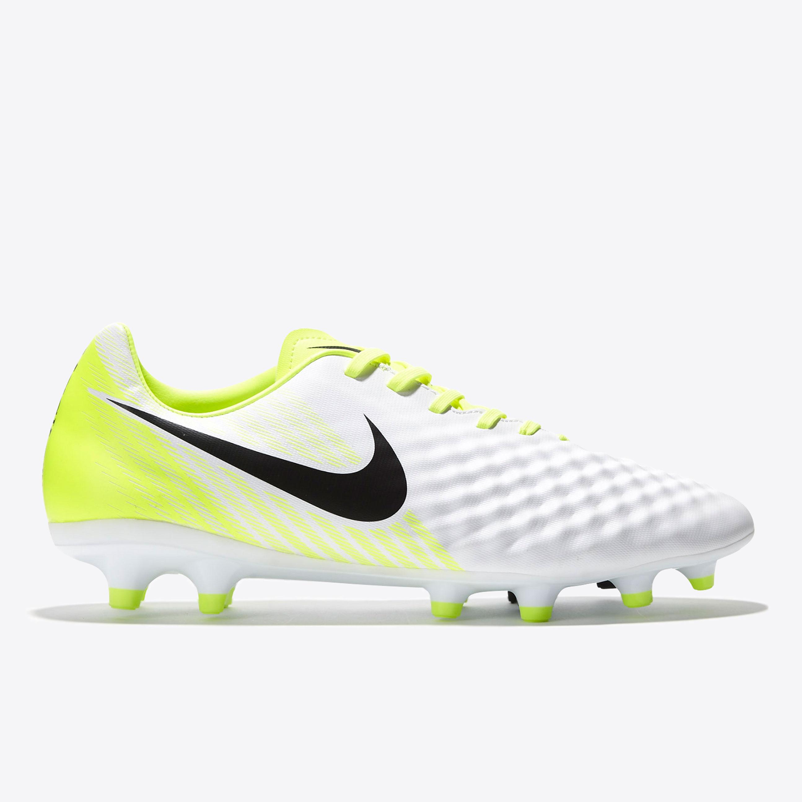 Nike Magista Onda II Firm Ground Football Boots - White/Black/Volt/Pur