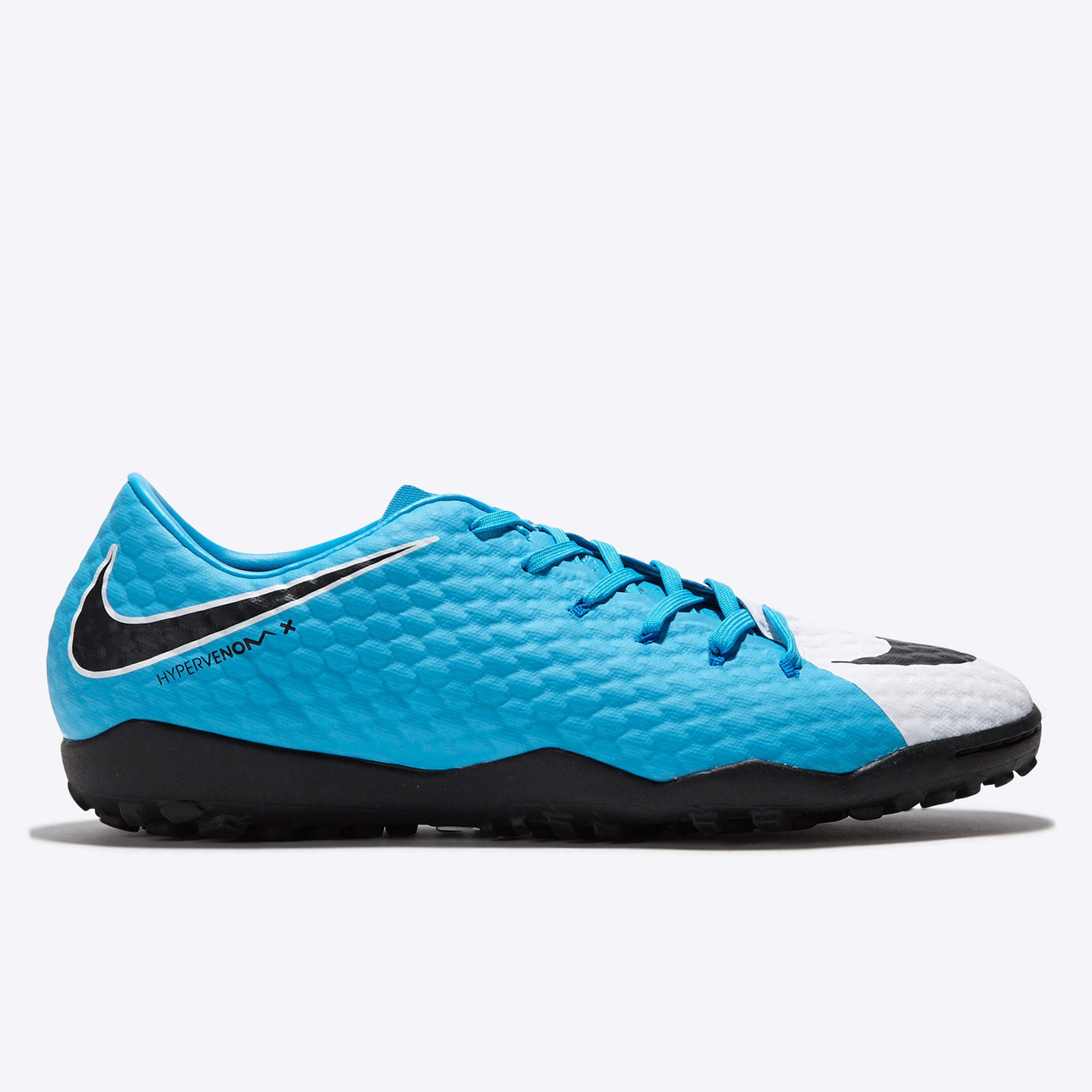 Nike Hypervenom Phelon III Astroturf Trainers - White/Black/Photo Blue