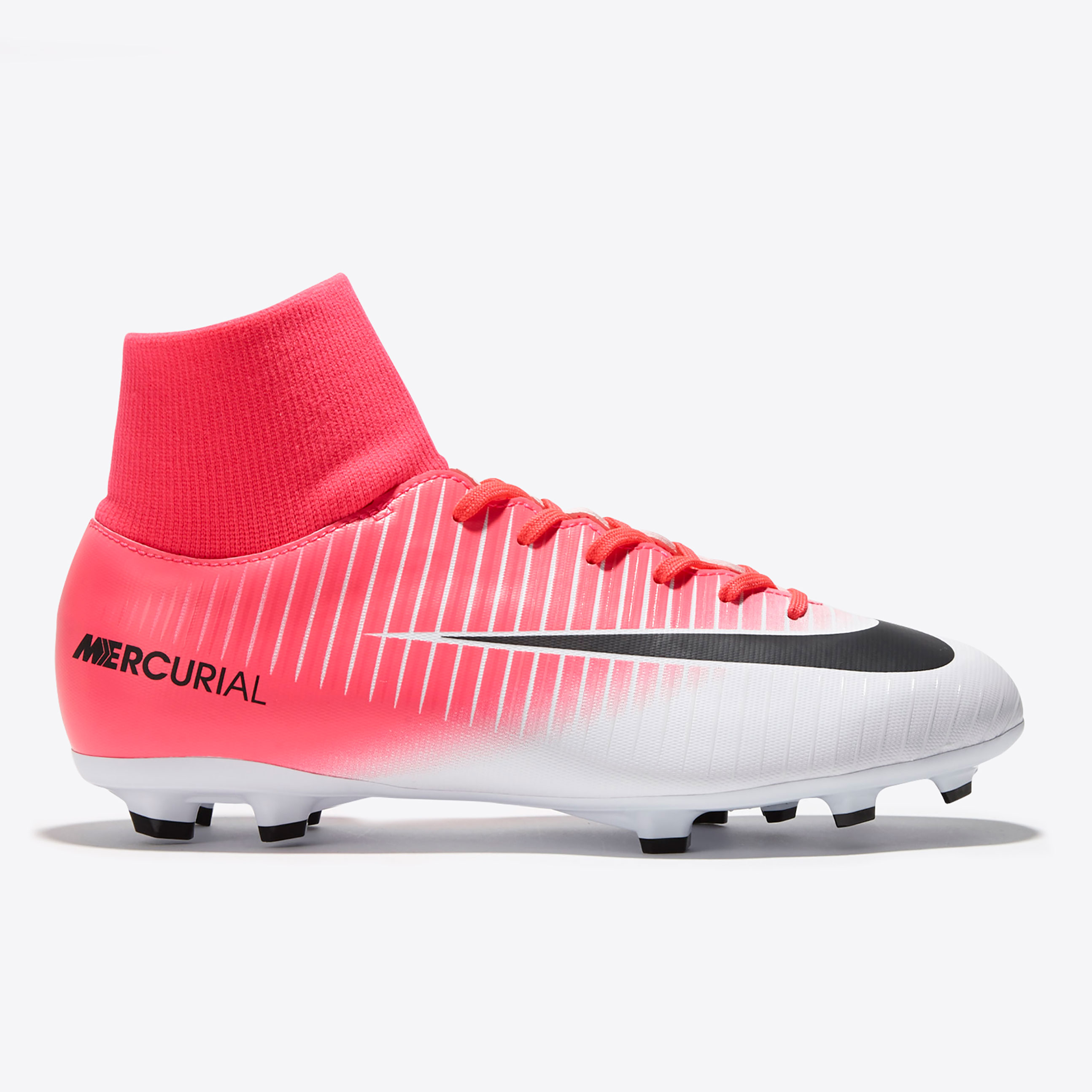 Nike Mercurial Victory VI DF Firm Ground Football Boots - Racer Pink/B