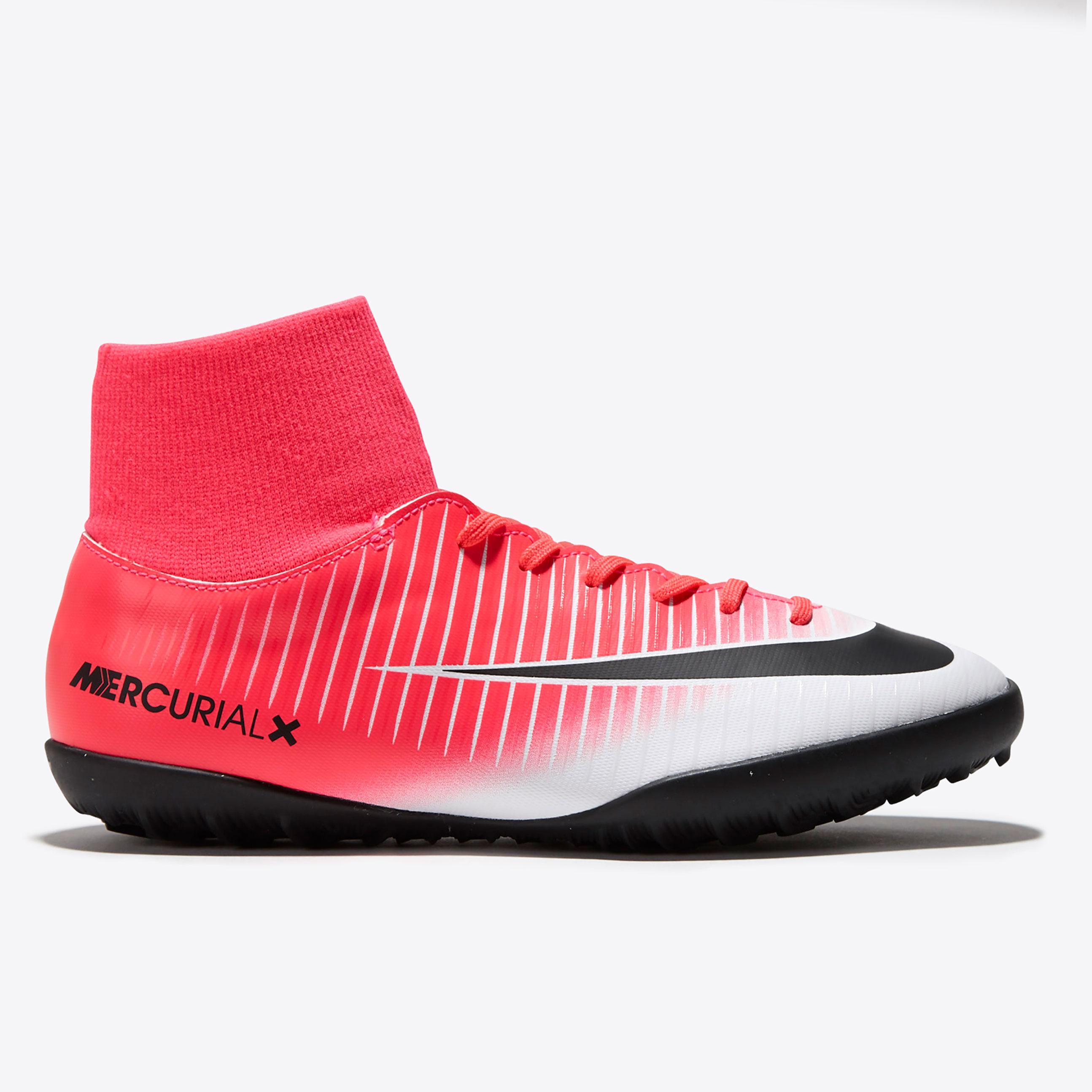 Nike Mercurial Victory VI DF Astroturf Trainers - Racer Pink/Black/Whi