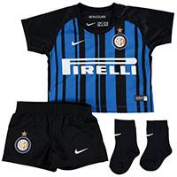 factory authentic b71db 09259 Nike Inter Milan Baby SS Home Mini Kit 2017/18