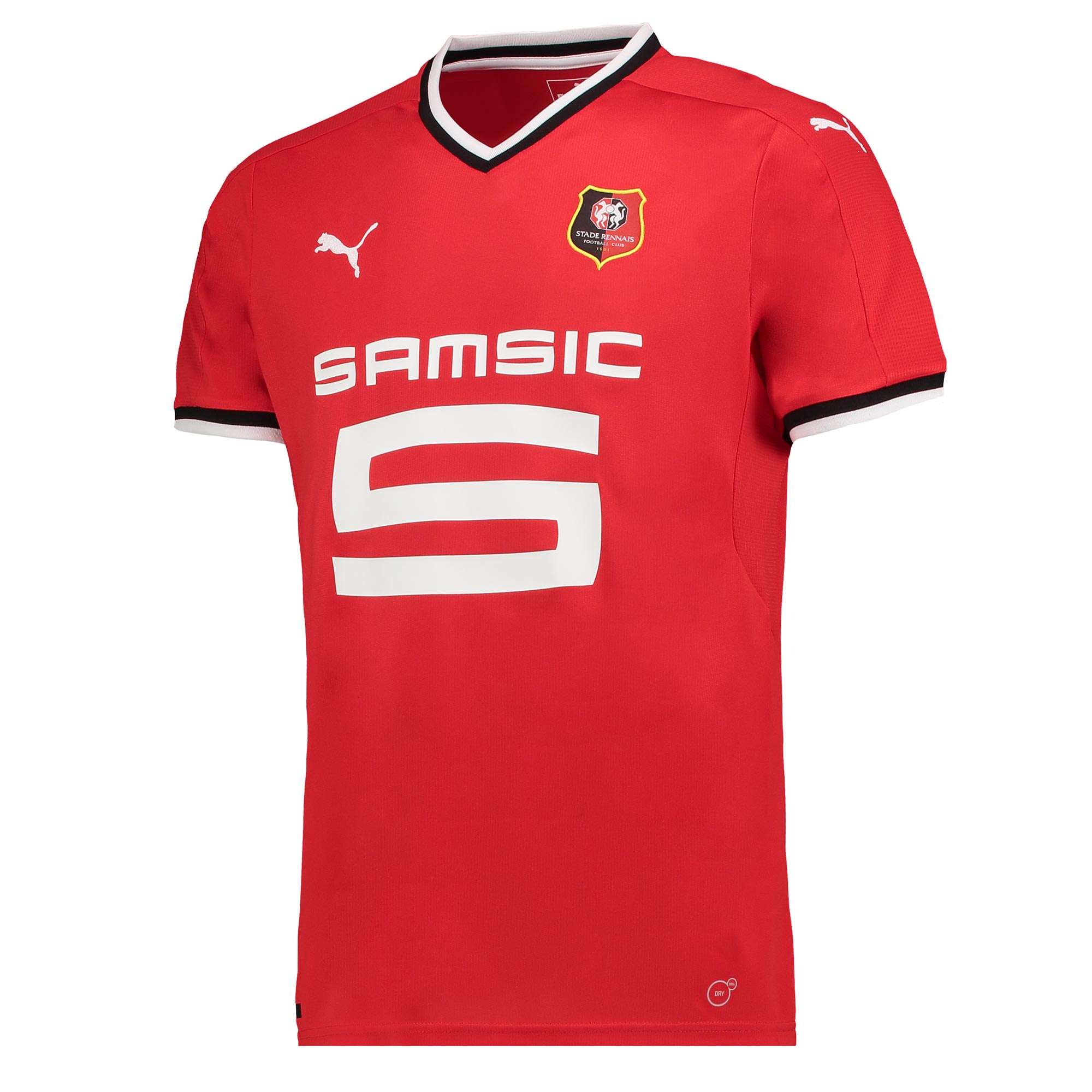 Stade Rennais FC Home Shirt 2017-18