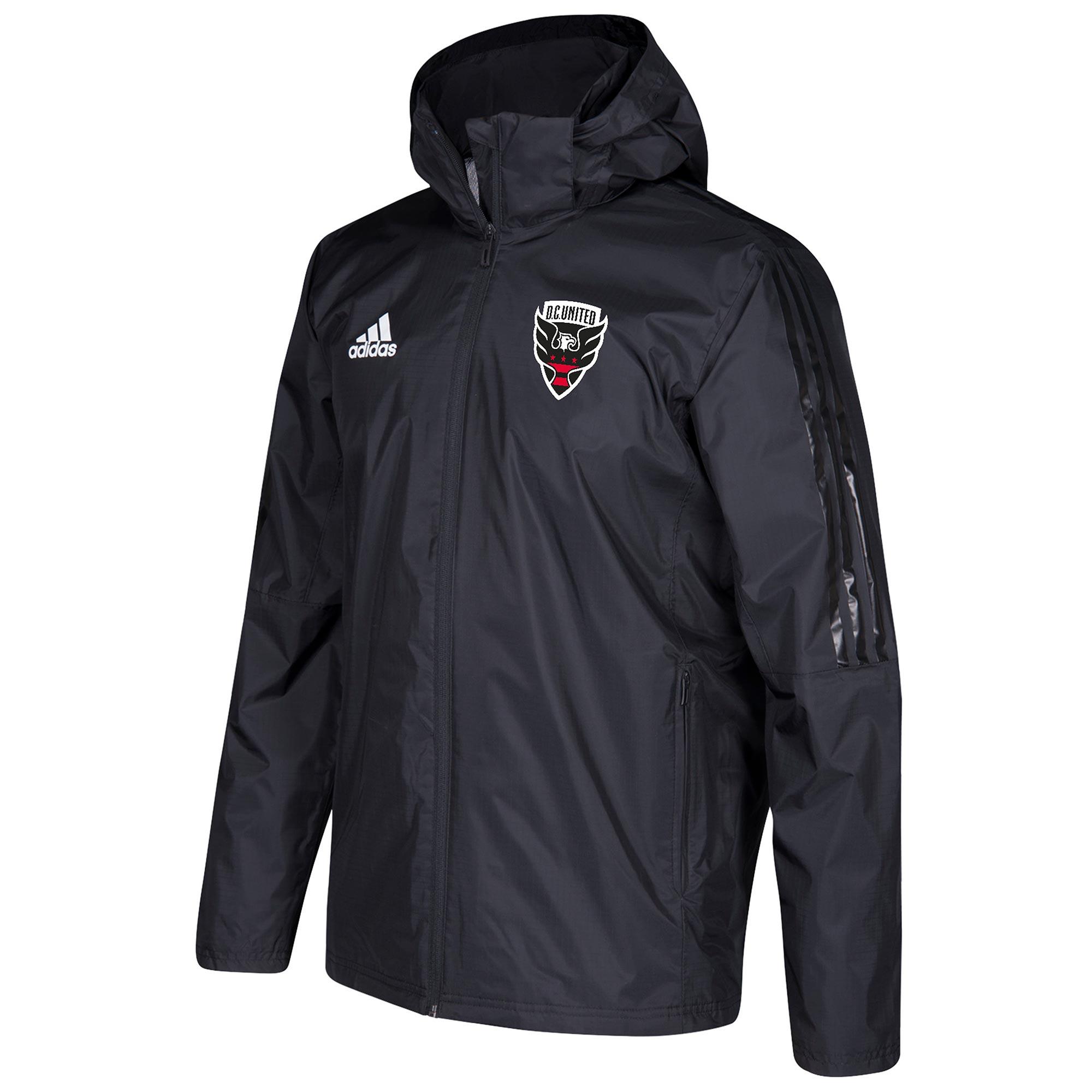 Chaqueta DC United Coaches - Negro
