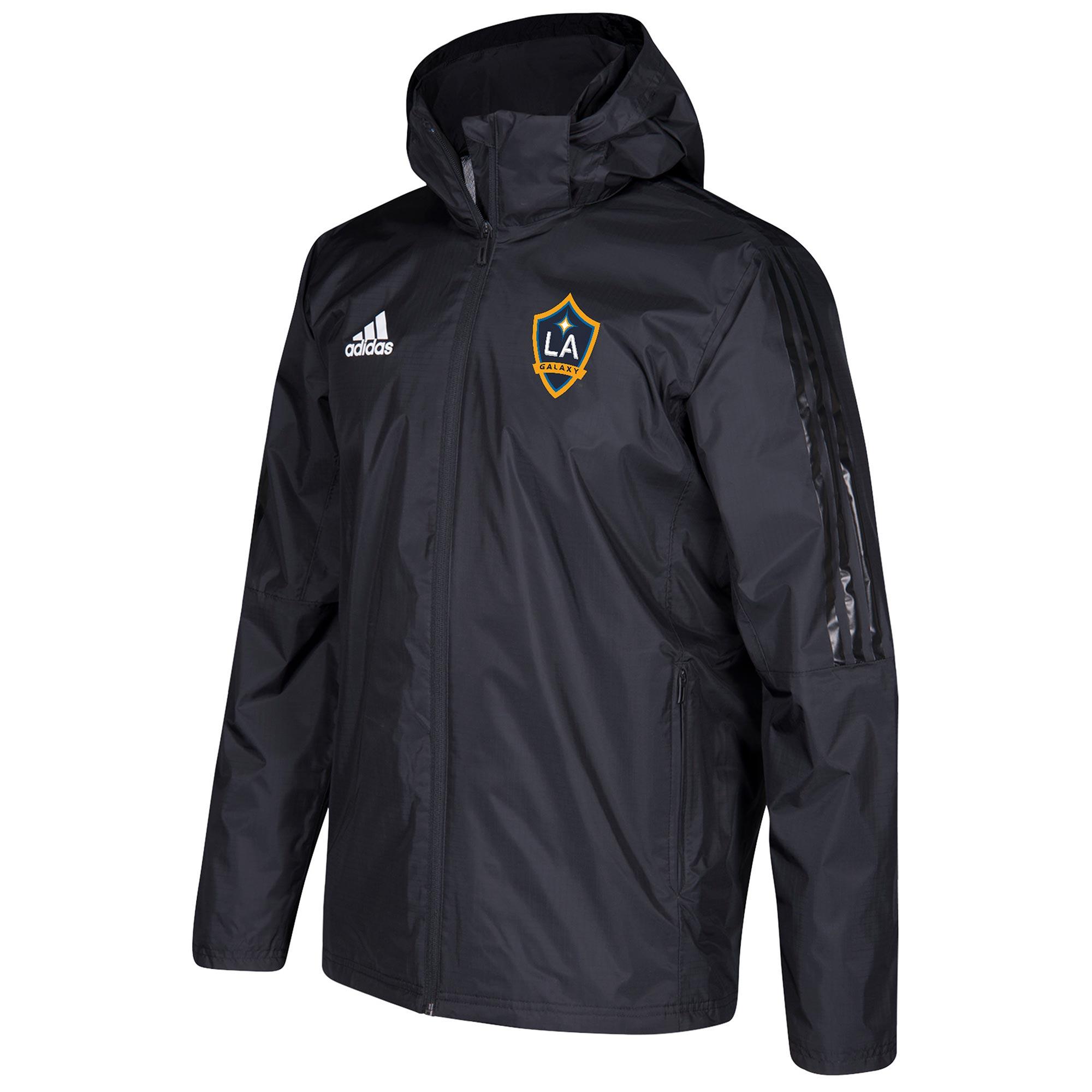 Chaqueta LA Galaxy Coaches - Negro
