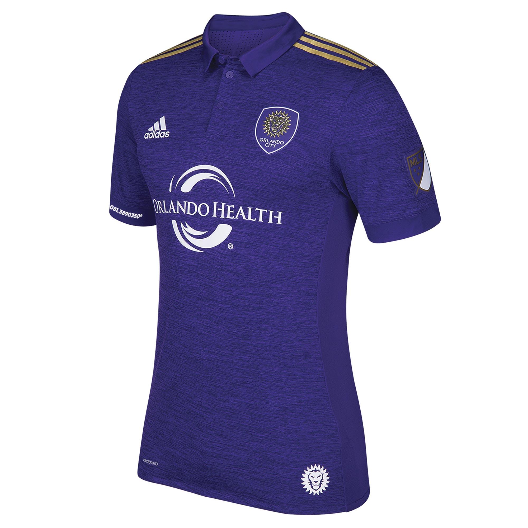 Orlando City SC Authentic Home Shirt 2018